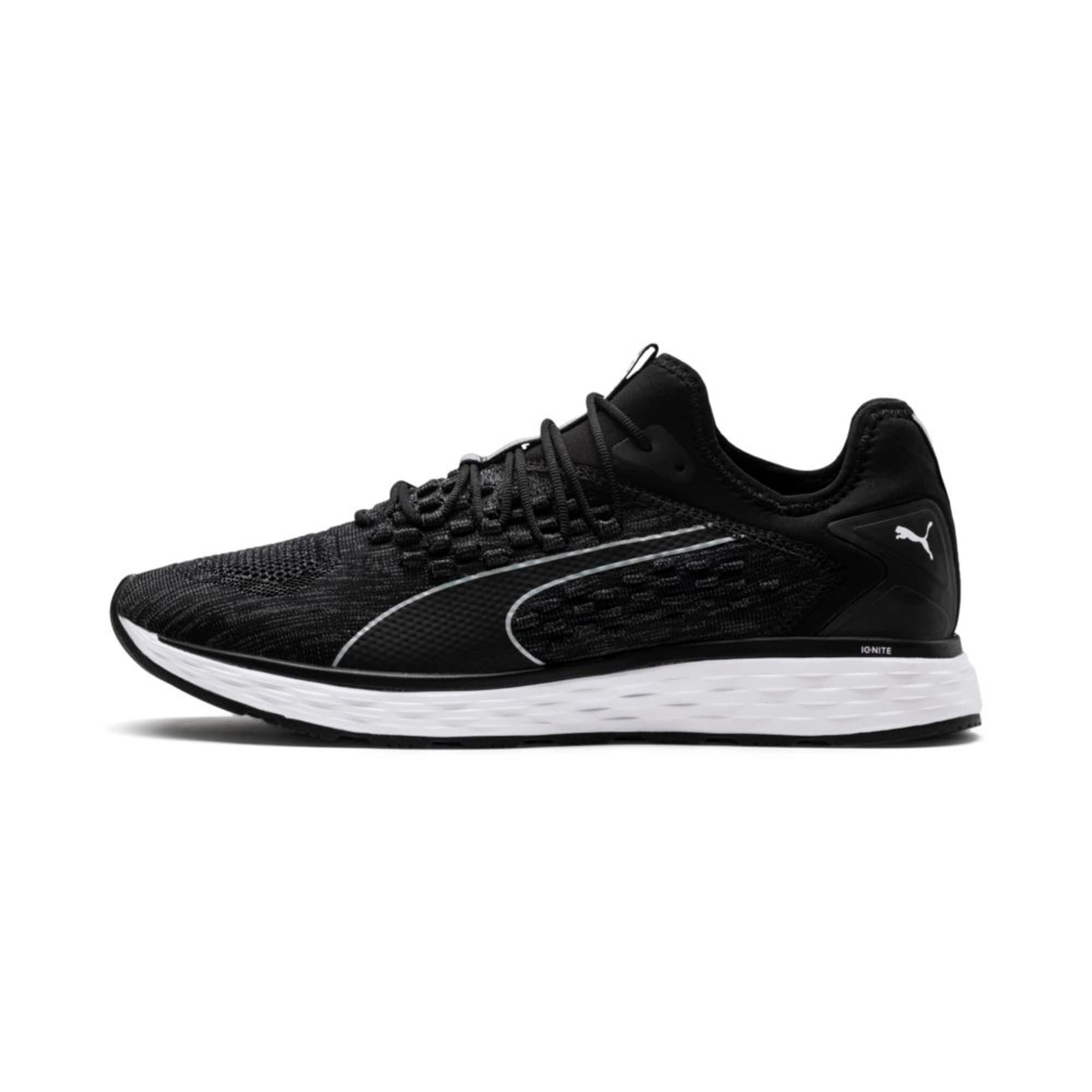 Thumbnail 1 of SPEED FUSEFIT Men's Running Shoes, Puma Black-Iron Gate, medium-IND