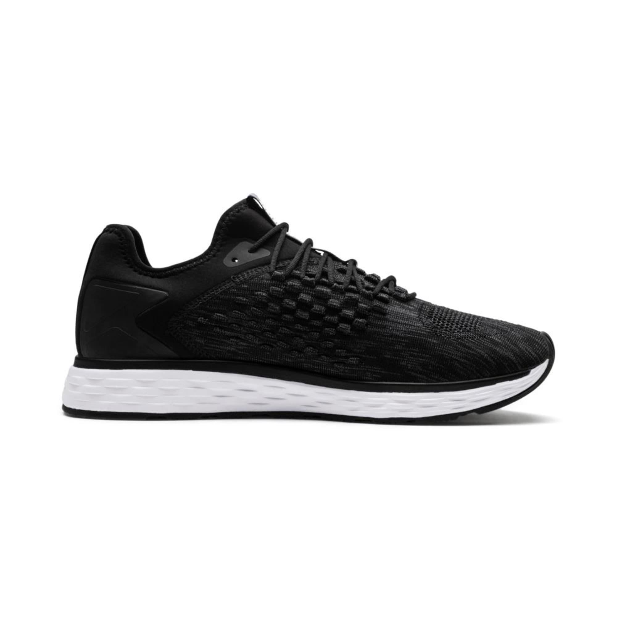 Thumbnail 2 of SPEED FUSEFIT Men's Running Shoes, Puma Black-Iron Gate, medium-IND