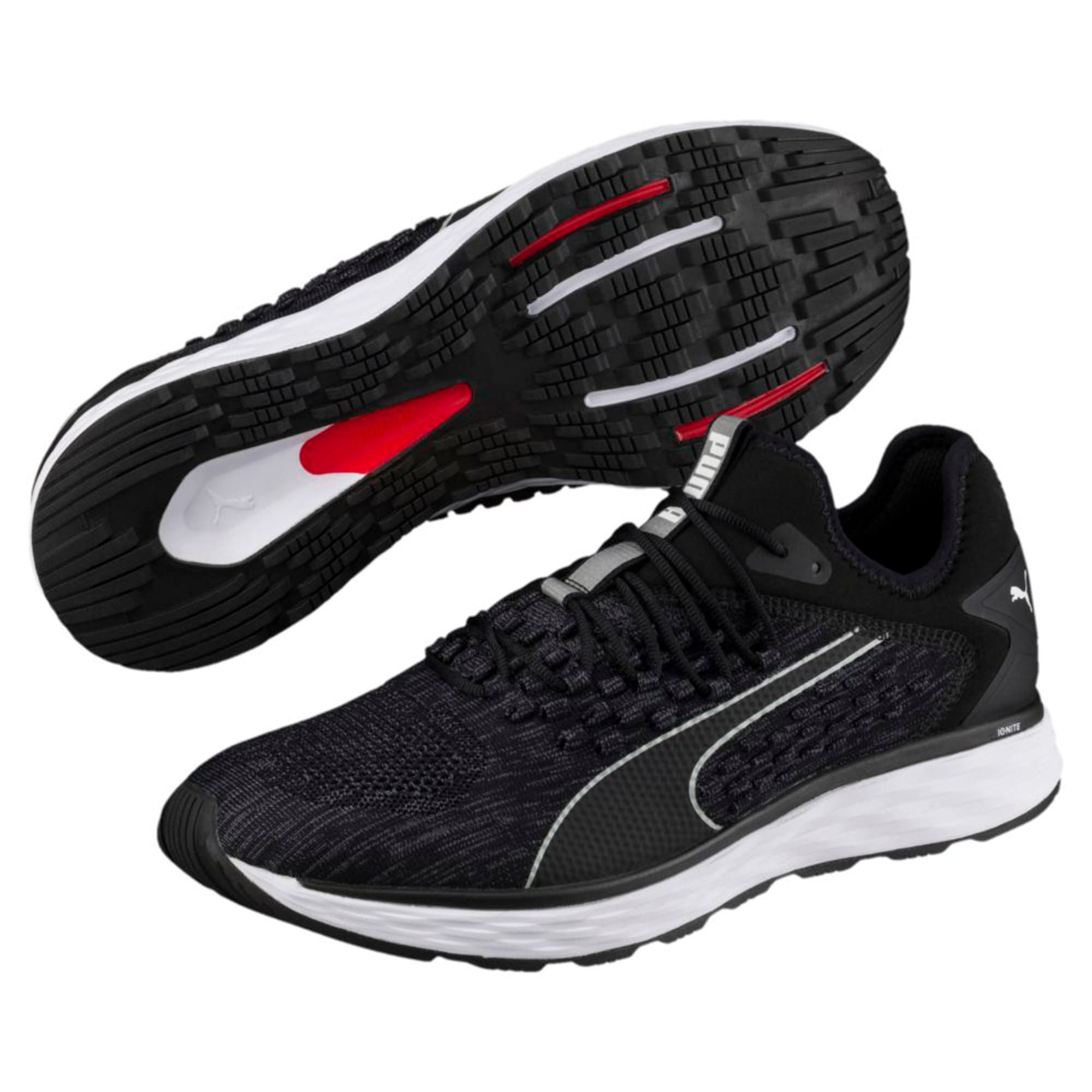 Thumbnail 6 of SPEED FUSEFIT Men's Running Shoes, Puma Black-Iron Gate, medium-IND