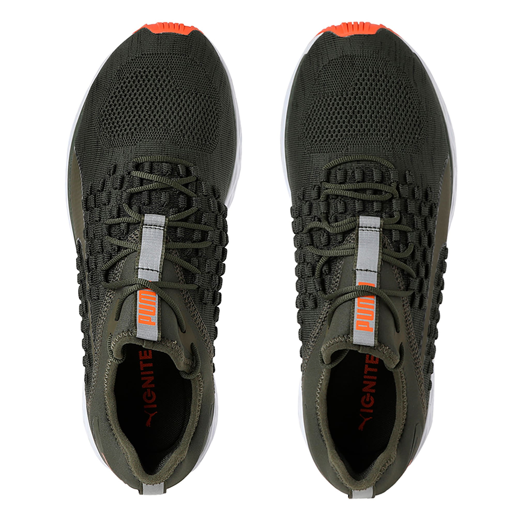 Thumbnail 4 of SPEED FUSEFIT Men's Running Shoes, Forest Night-Firecracker, medium-IND