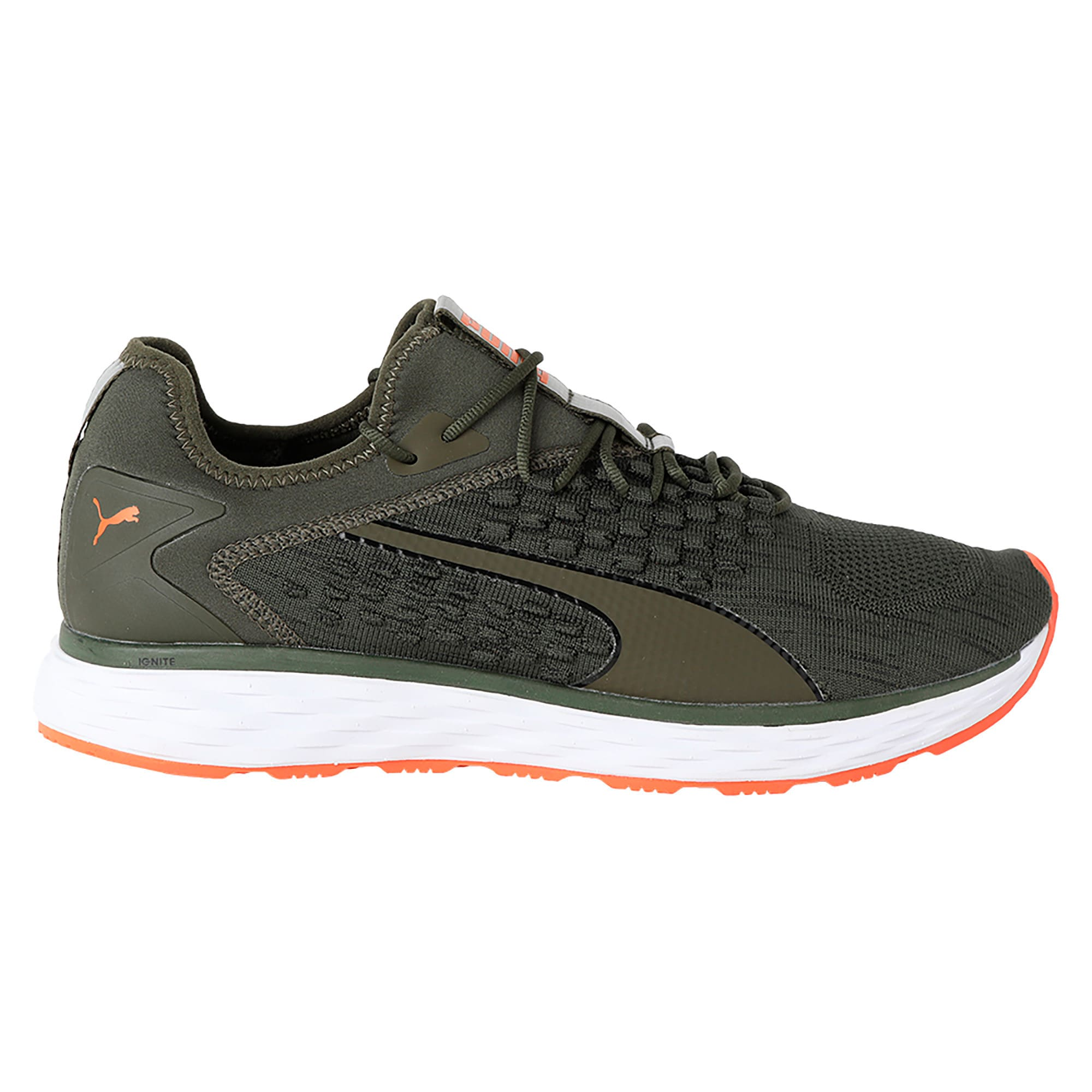 Thumbnail 6 of SPEED FUSEFIT Men's Running Shoes, Forest Night-Firecracker, medium-IND