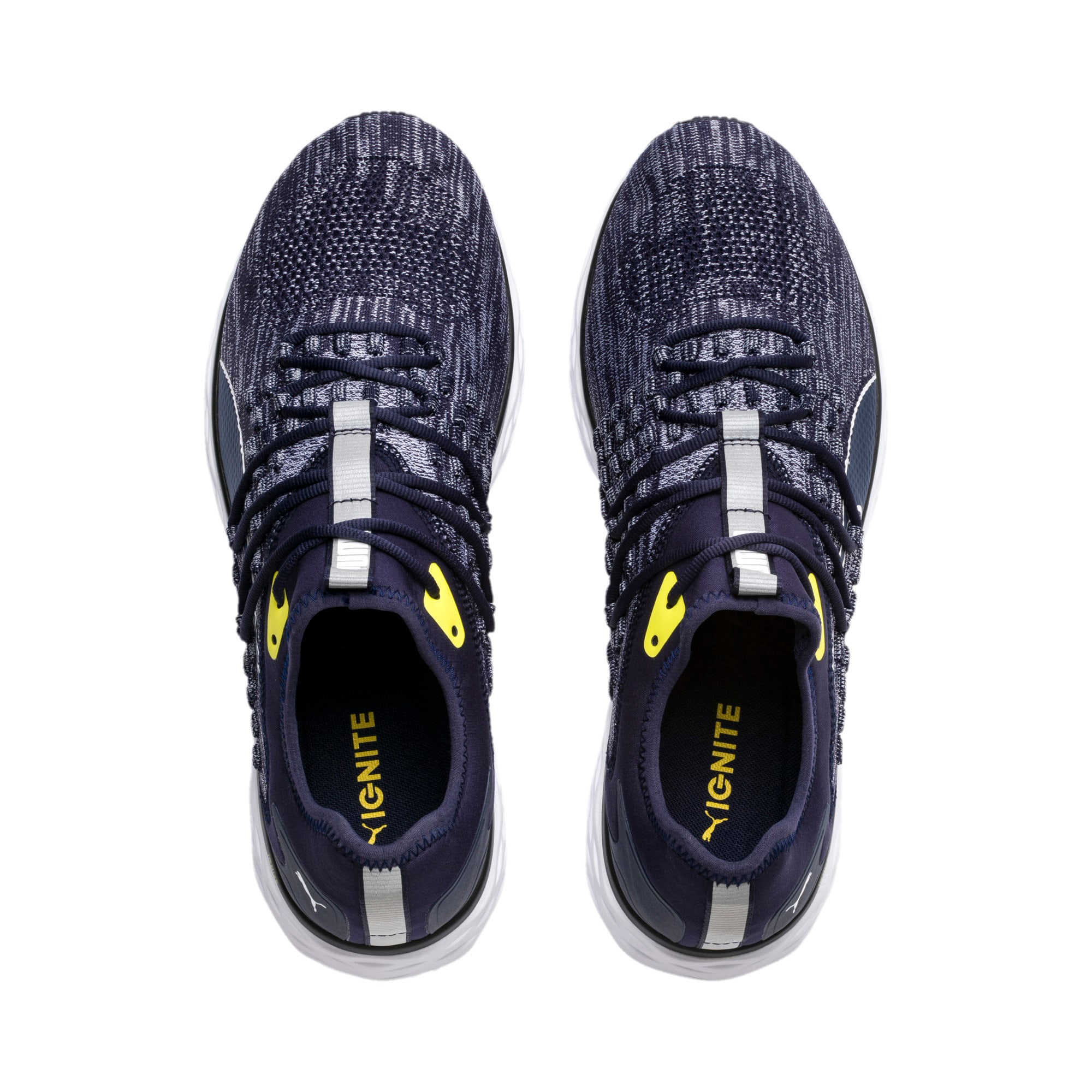 Thumbnail 7 of SPEED FUSEFIT Men's Running Shoes, Peacoat-White-Blazing Yellow, medium-IND
