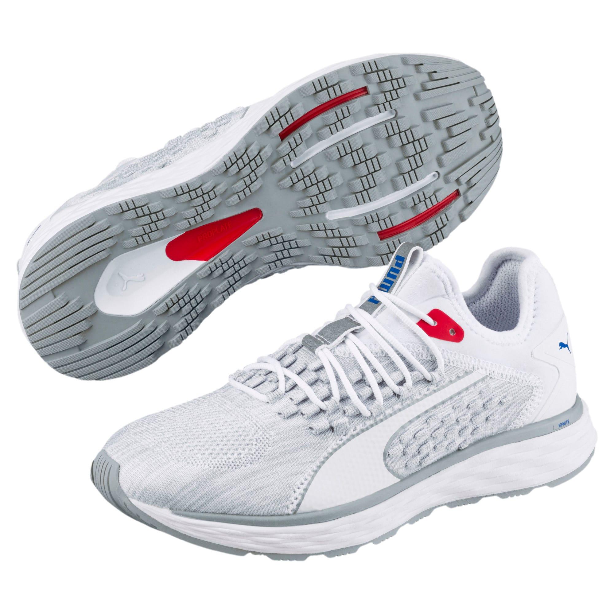 Thumbnail 4 of SPEED FUSEFIT Women's Running Shoes, Puma White-Quarry, medium-IND