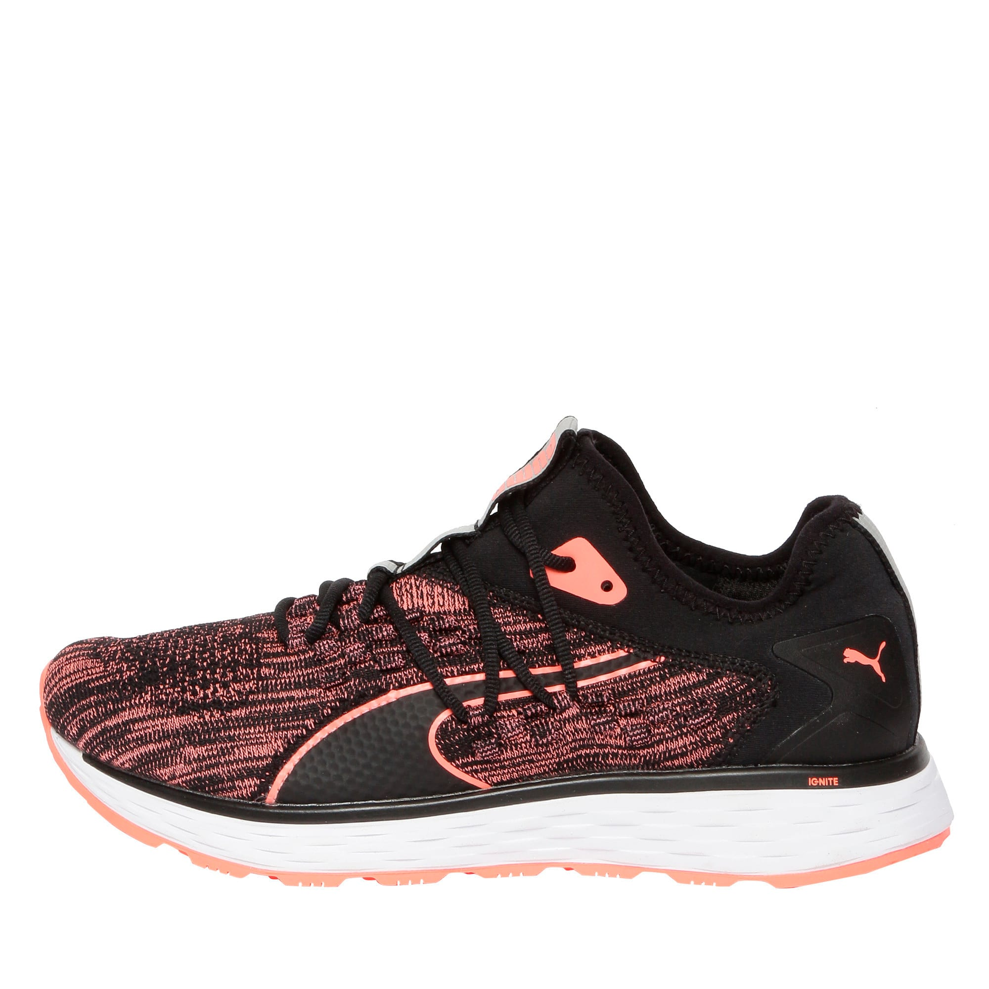 Thumbnail 1 of SPEED FUSEFIT Women's Running Shoes, Puma Black-Fluo Peach, medium-IND