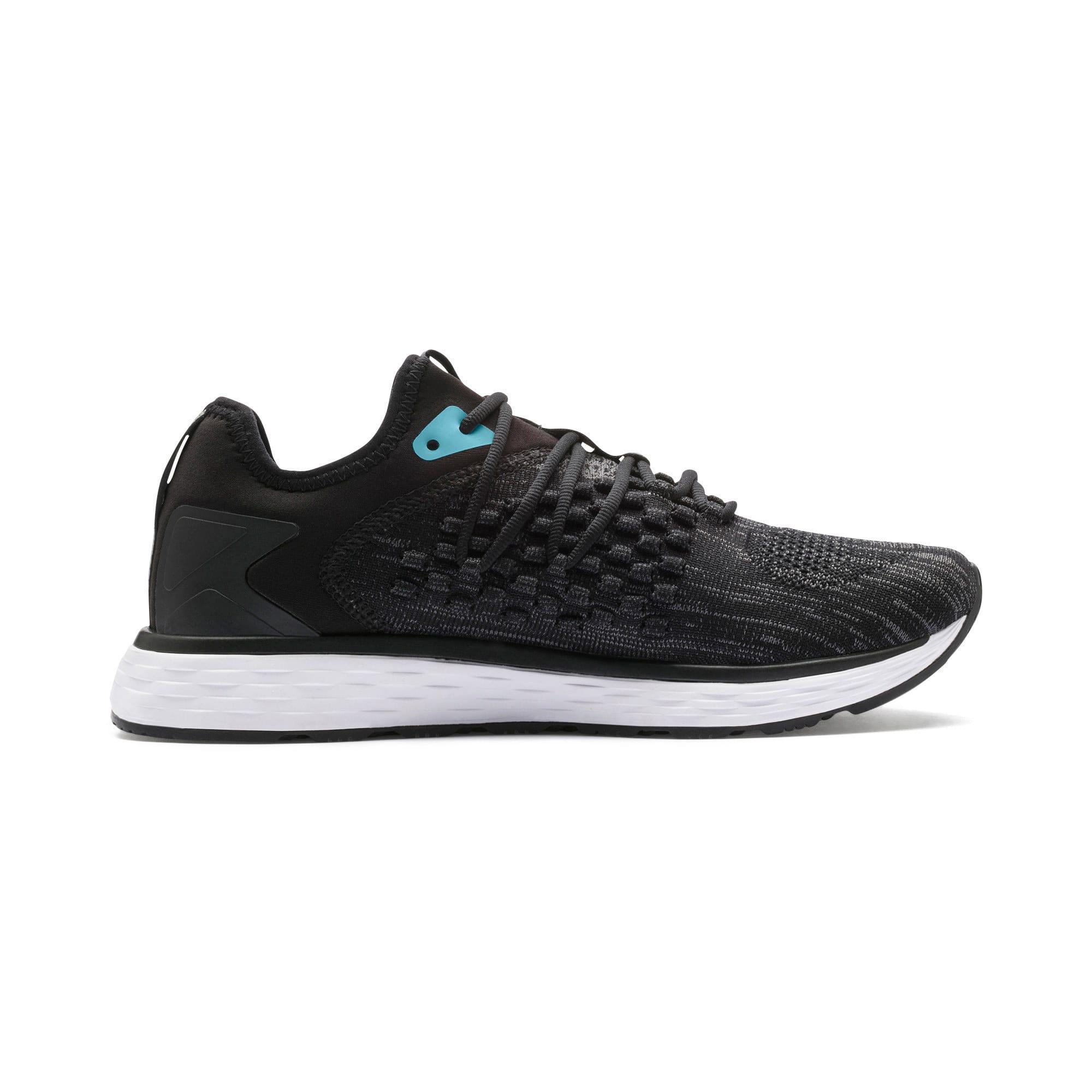 Thumbnail 7 of SPEED FUSEFIT Women's Running Shoes, Puma Black-Milky Blue, medium-IND