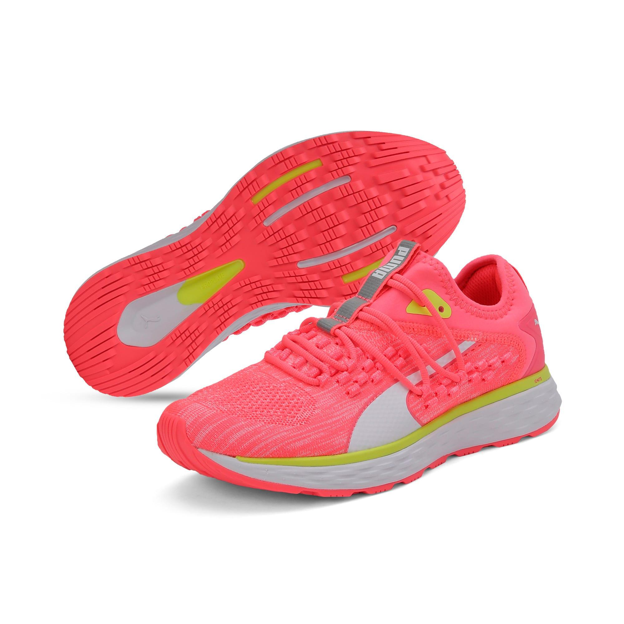 Thumbnail 4 of SPEED FUSEFIT Women's Running Shoes, Pink Alert-Puma White, medium-IND