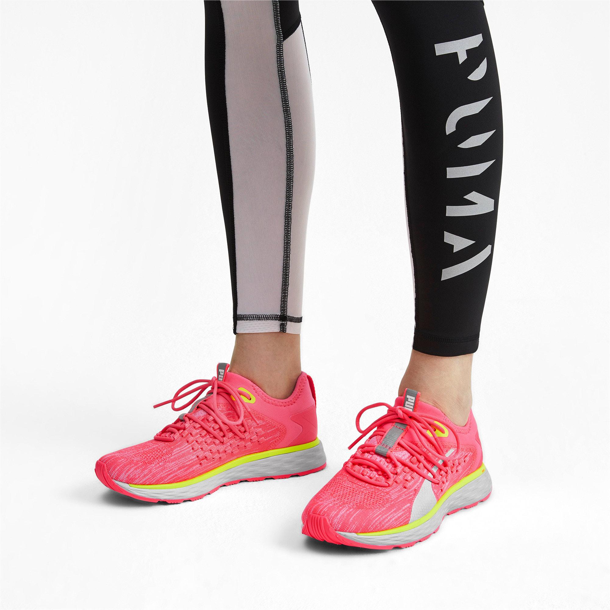 Thumbnail 2 of SPEED FUSEFIT Women's Running Shoes, Pink Alert-Puma White, medium-IND