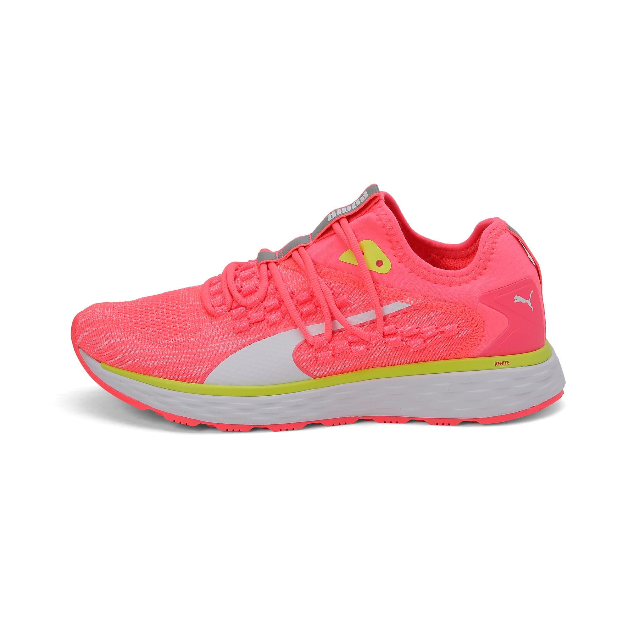 Thumbnail 1 of SPEED FUSEFIT Women's Running Shoes, Pink Alert-Puma White, medium-IND