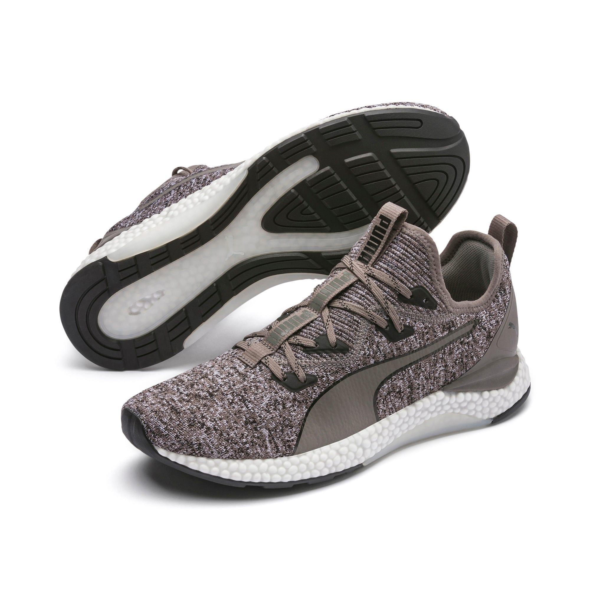 Thumbnail 3 of Hybrid Runner Men's Running Shoes, Charcoal Gray-Puma White, medium-IND