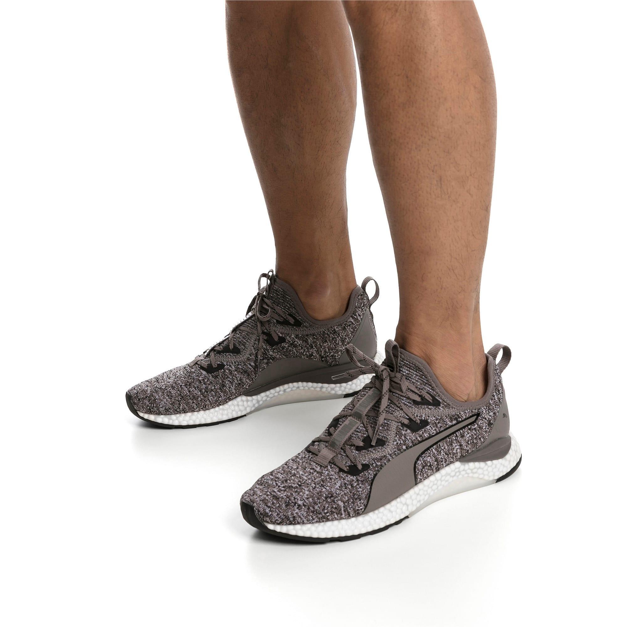 Thumbnail 8 of Hybrid Runner Men's Running Shoes, Charcoal Gray-Puma White, medium-IND