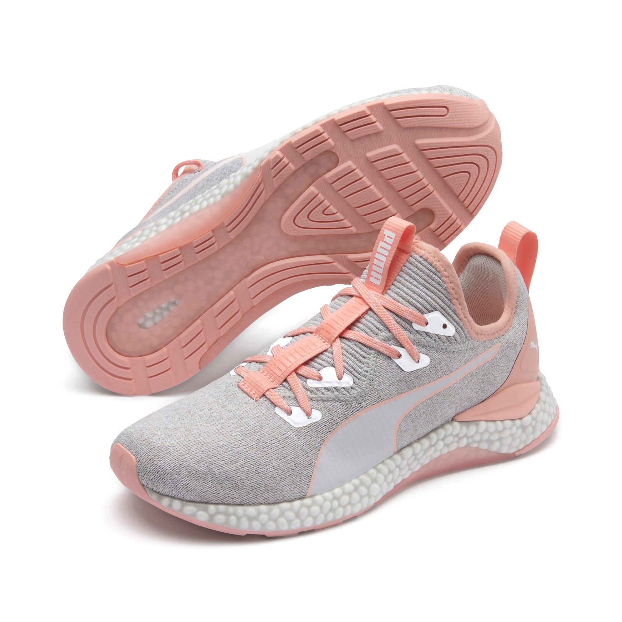 Thumbnail 3 of HYBRID Runner Women's Running Shoes, Glacier Gray-Peach Bud, medium