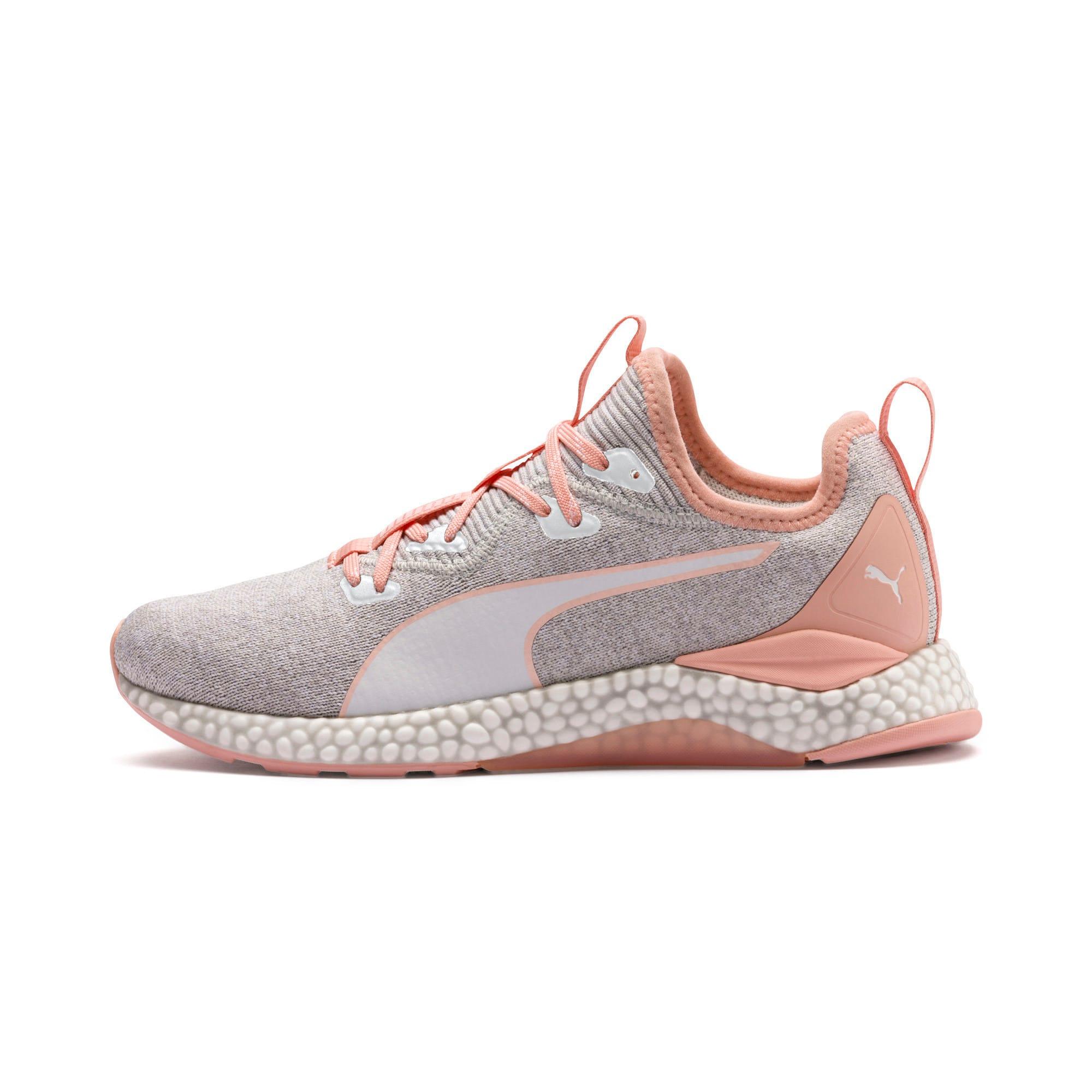 Thumbnail 1 of HYBRID Runner Women's Running Shoes, Glacier Gray-Peach Bud, medium