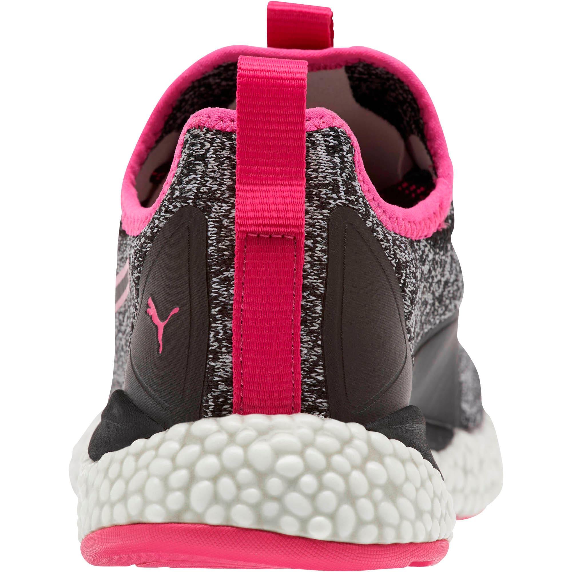 Thumbnail 3 of HYBRID Runner Women's Running Shoes, Puma Black-Fuchsia Purple, medium