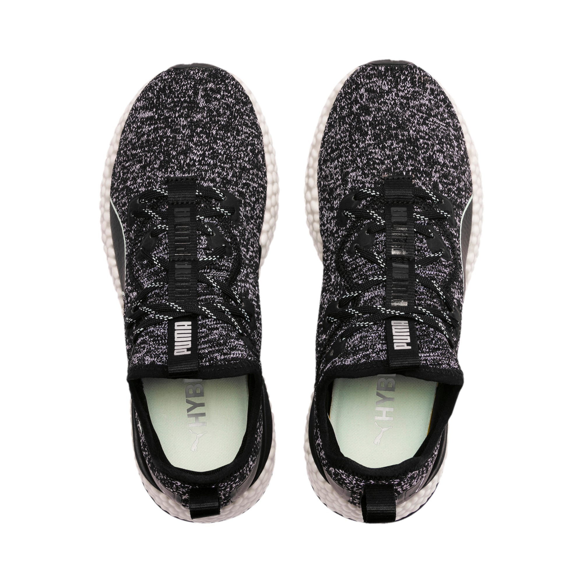 Thumbnail 7 of HYBRID Runner Women's Running Shoes, Puma Black-Fair Aqua, medium