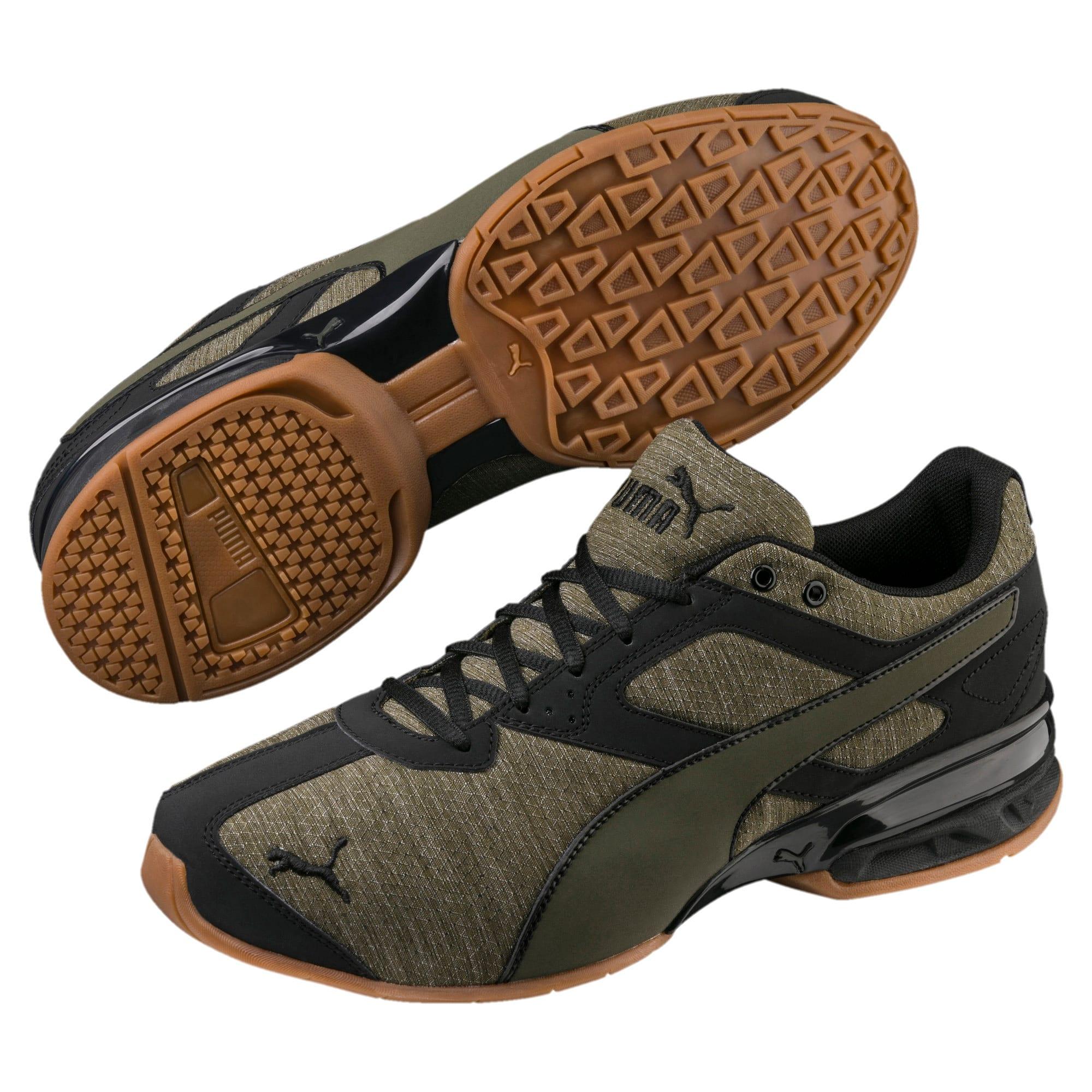Thumbnail 1 of Tazon 6 Heather Rip Men's Sneakers, Forest Night-Puma Black, medium