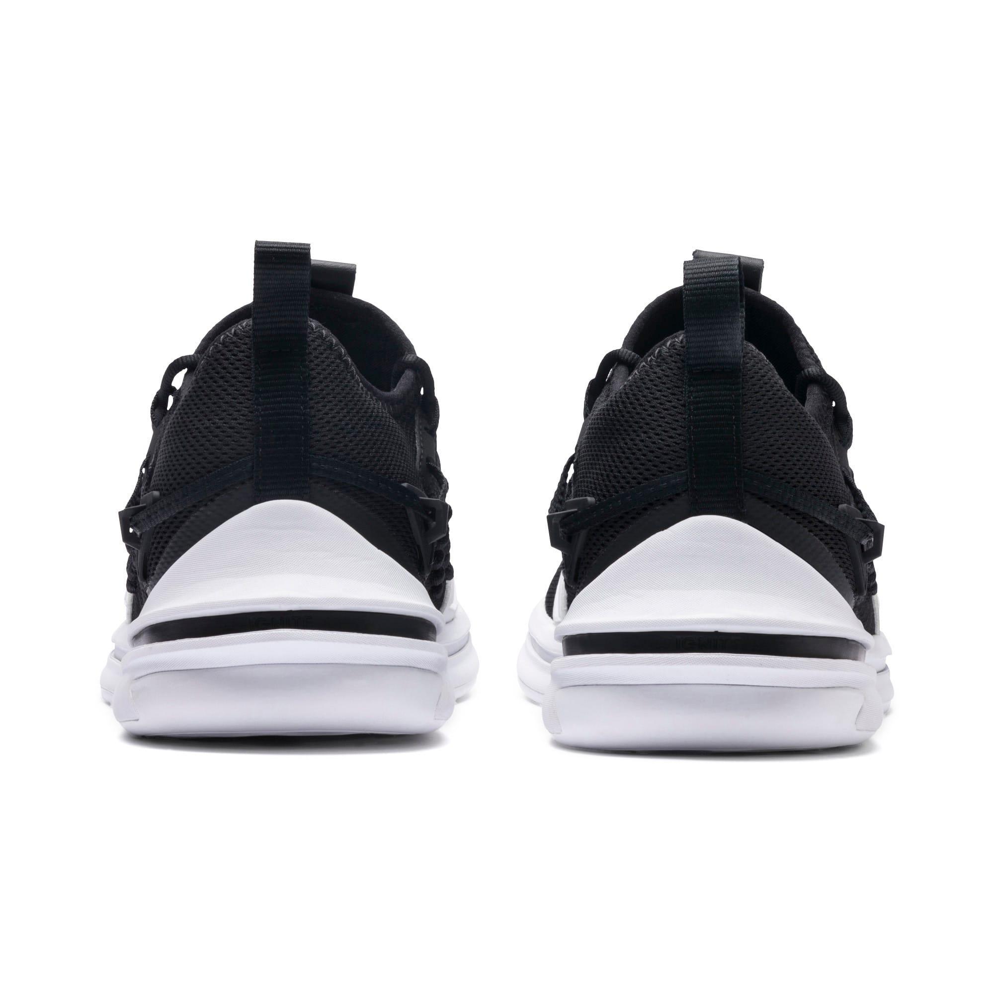 Thumbnail 5 of IGNITE Limitless SR FUSEFIT Running Shoes, Puma Black-Puma White, medium-IND