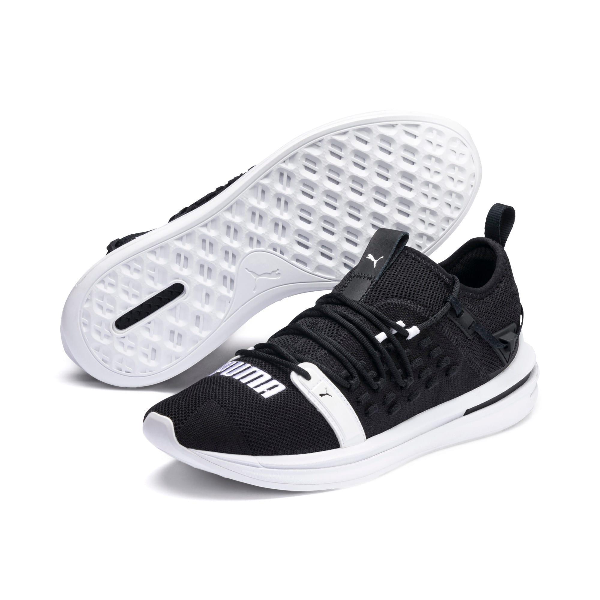 Thumbnail 4 of IGNITE Limitless SR FUSEFIT Running Shoes, Puma Black-Puma White, medium-IND