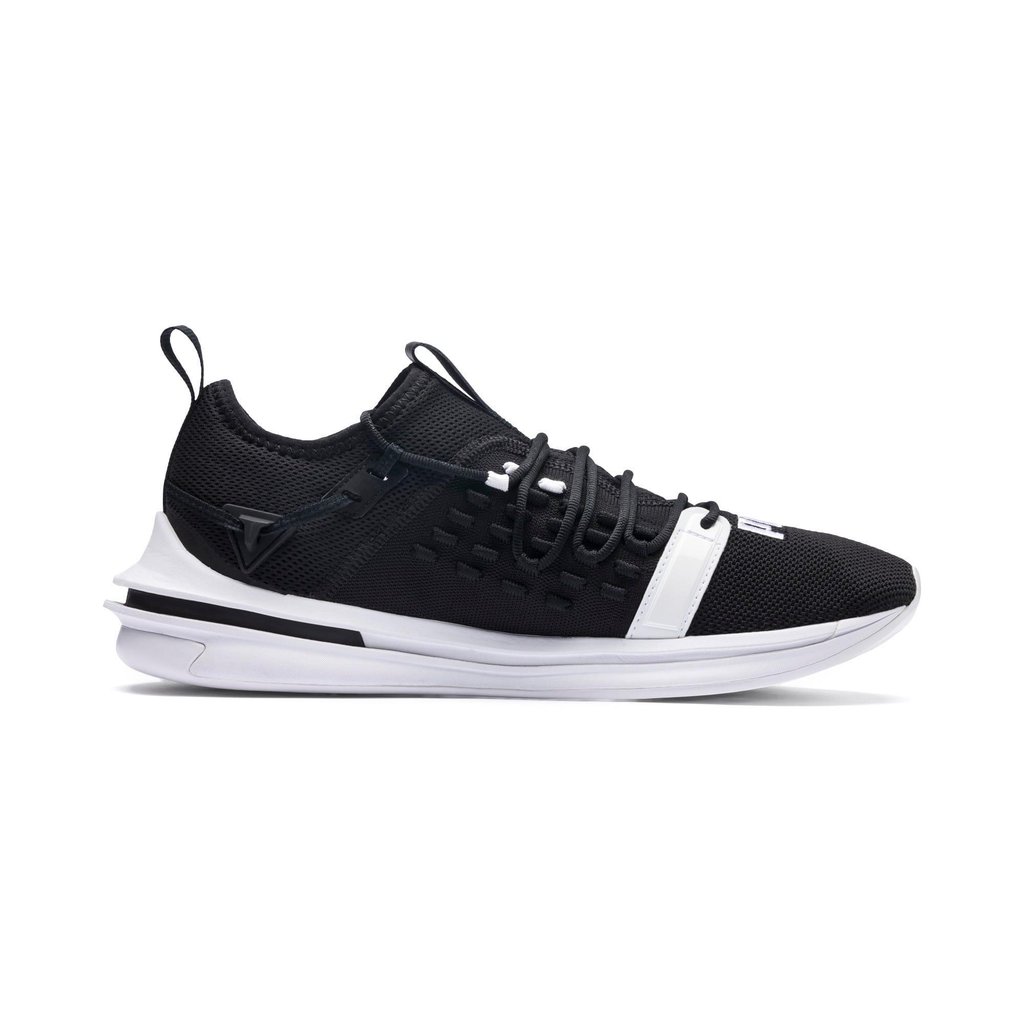 Thumbnail 3 of IGNITE Limitless SR FUSEFIT Running Shoes, Puma Black-Puma White, medium-IND