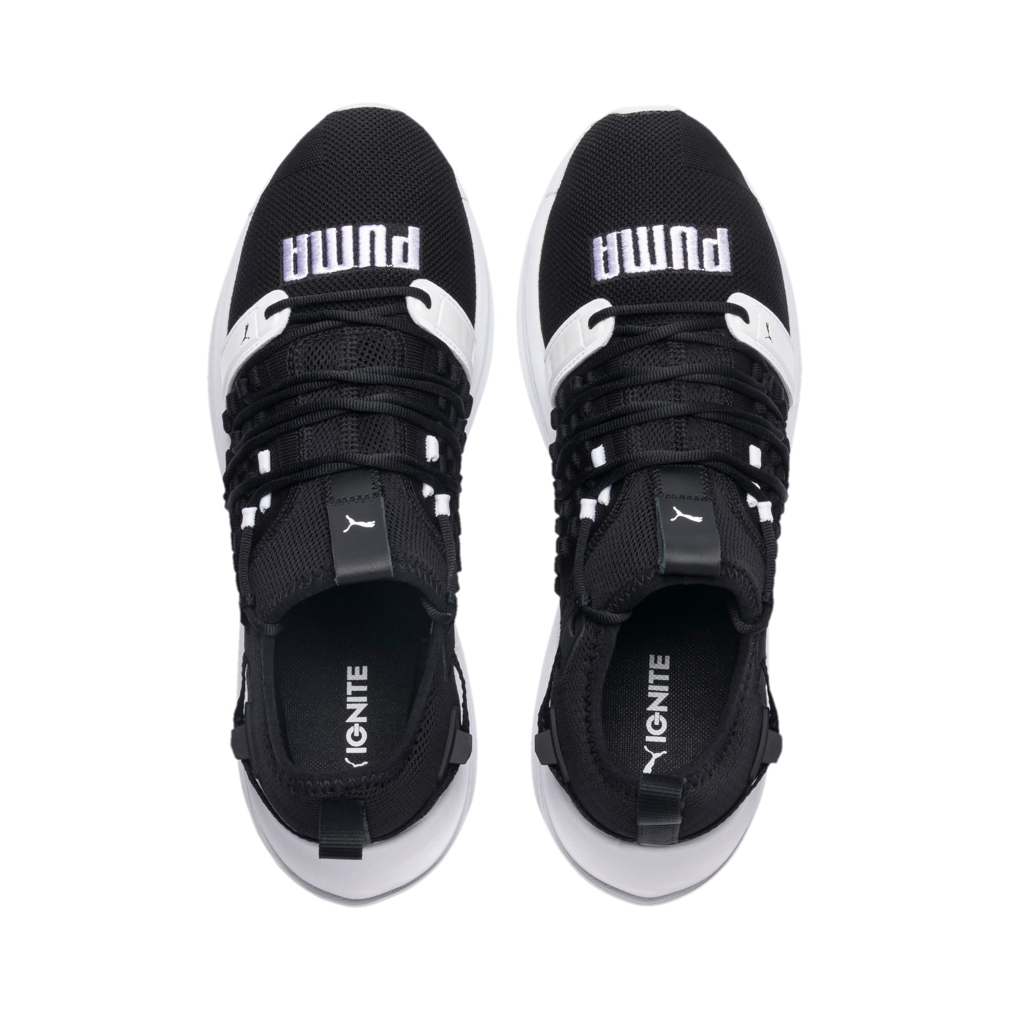 Thumbnail 6 of IGNITE Limitless SR FUSEFIT Running Shoes, Puma Black-Puma White, medium-IND