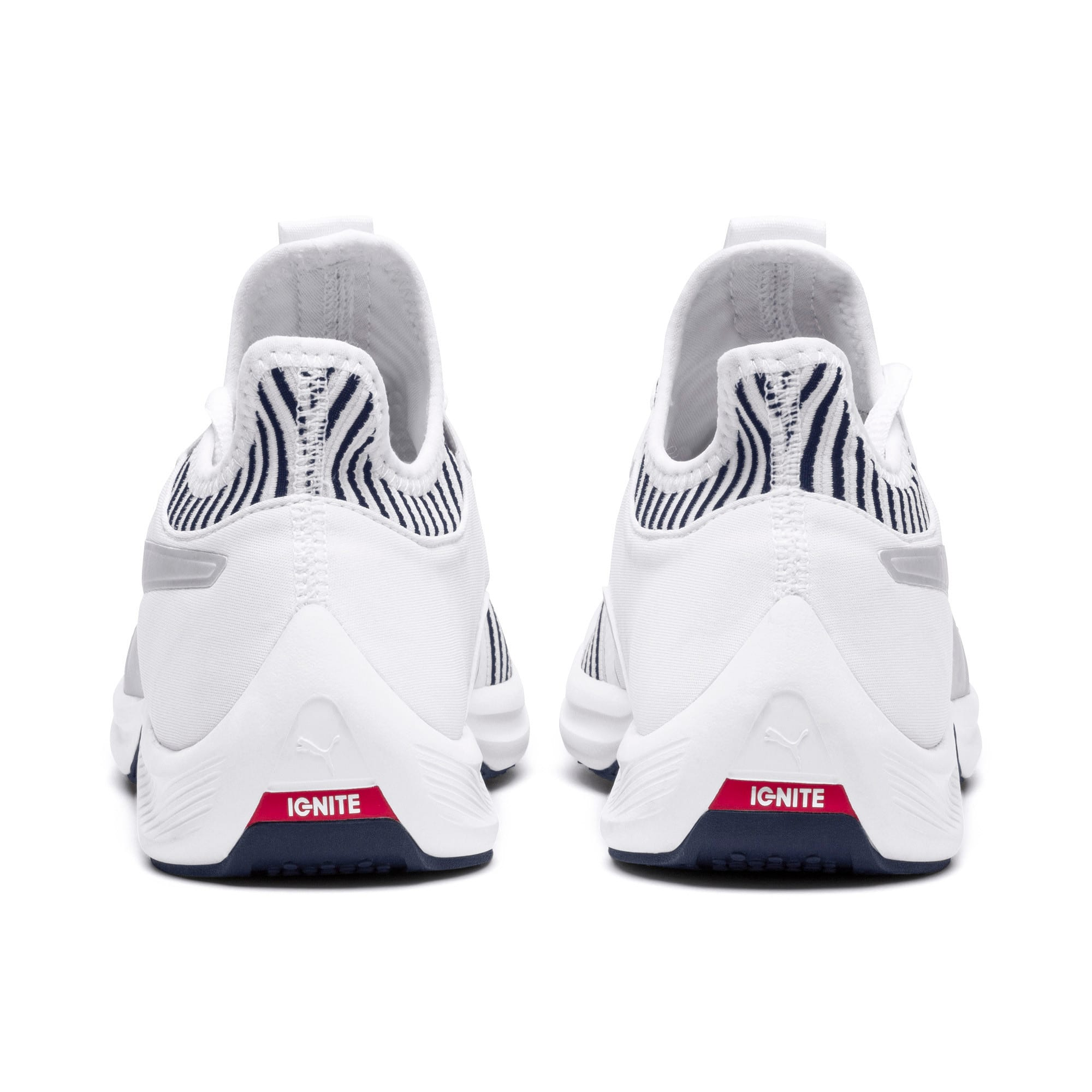 Thumbnail 4 of Amp XT Women's Trainers, Puma White-Peacoat, medium-IND