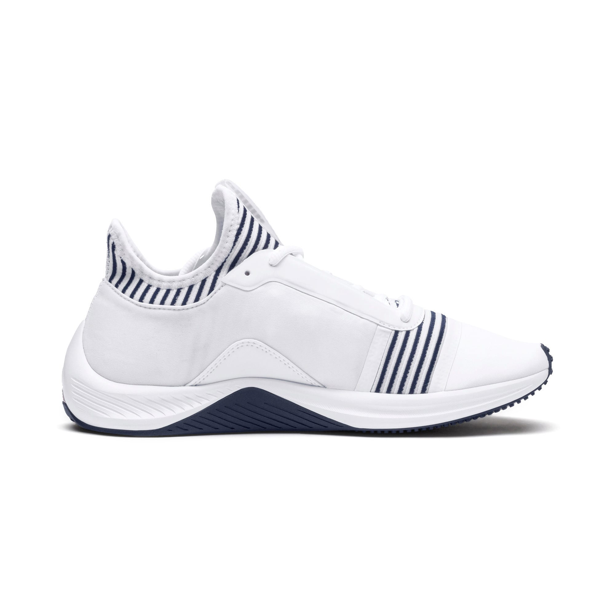 Thumbnail 6 of Amp XT Women's Trainers, Puma White-Peacoat, medium-IND