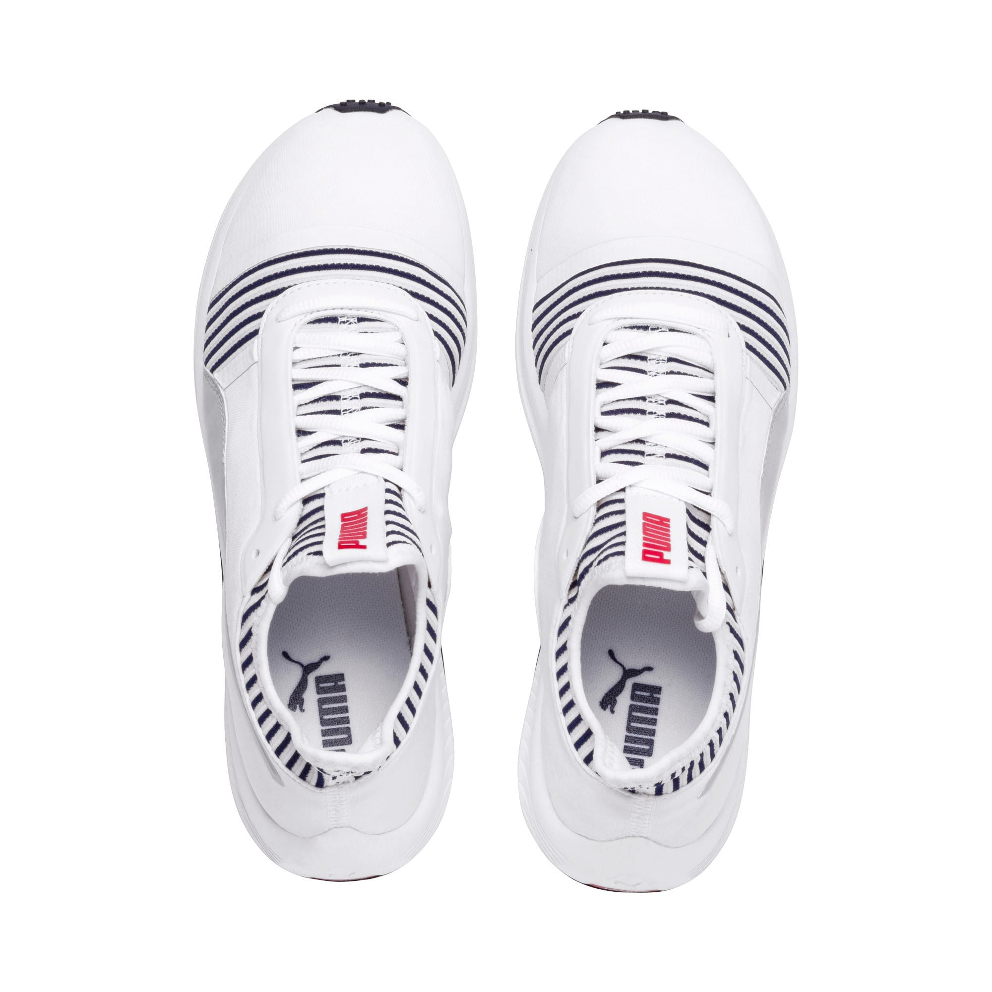 Thumbnail 7 of Amp XT Women's Trainers, Puma White-Peacoat, medium-IND