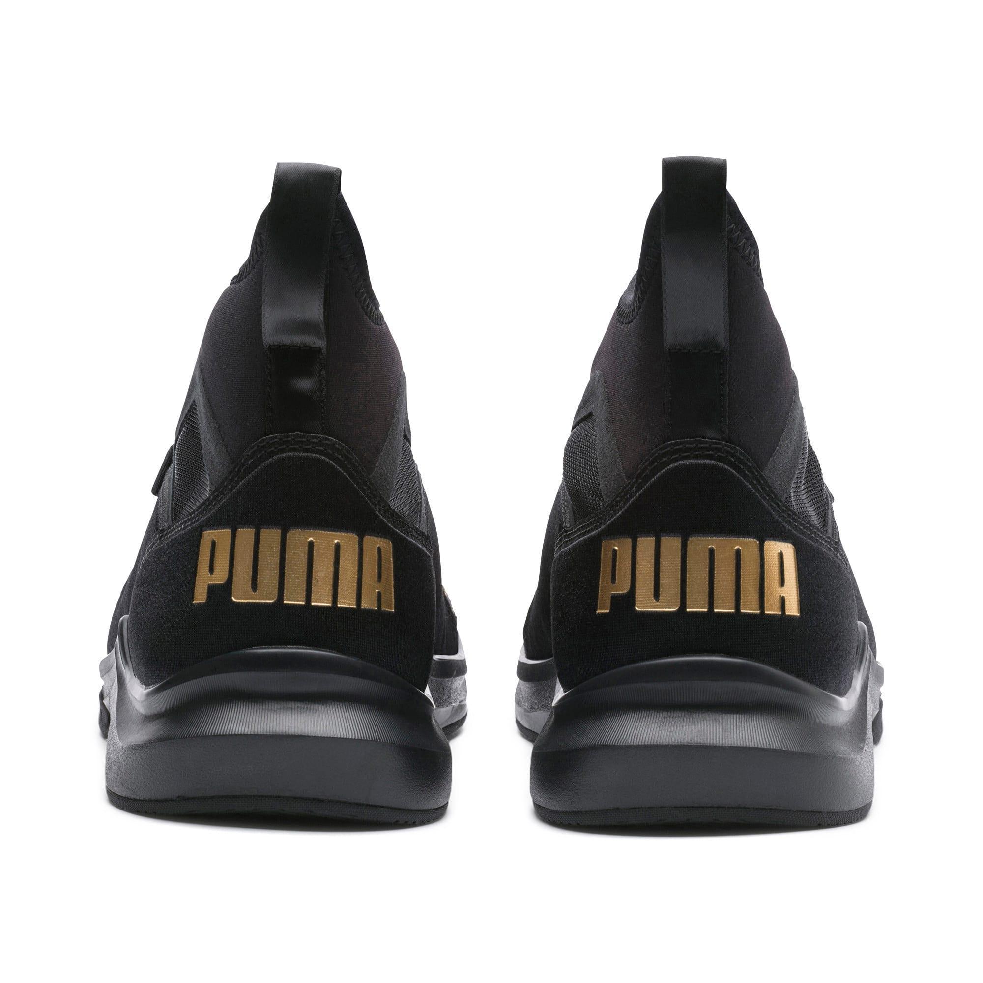 Thumbnail 5 of Phenom Varsity Women's Training Shoes, Puma Black-Puma Black, medium-IND