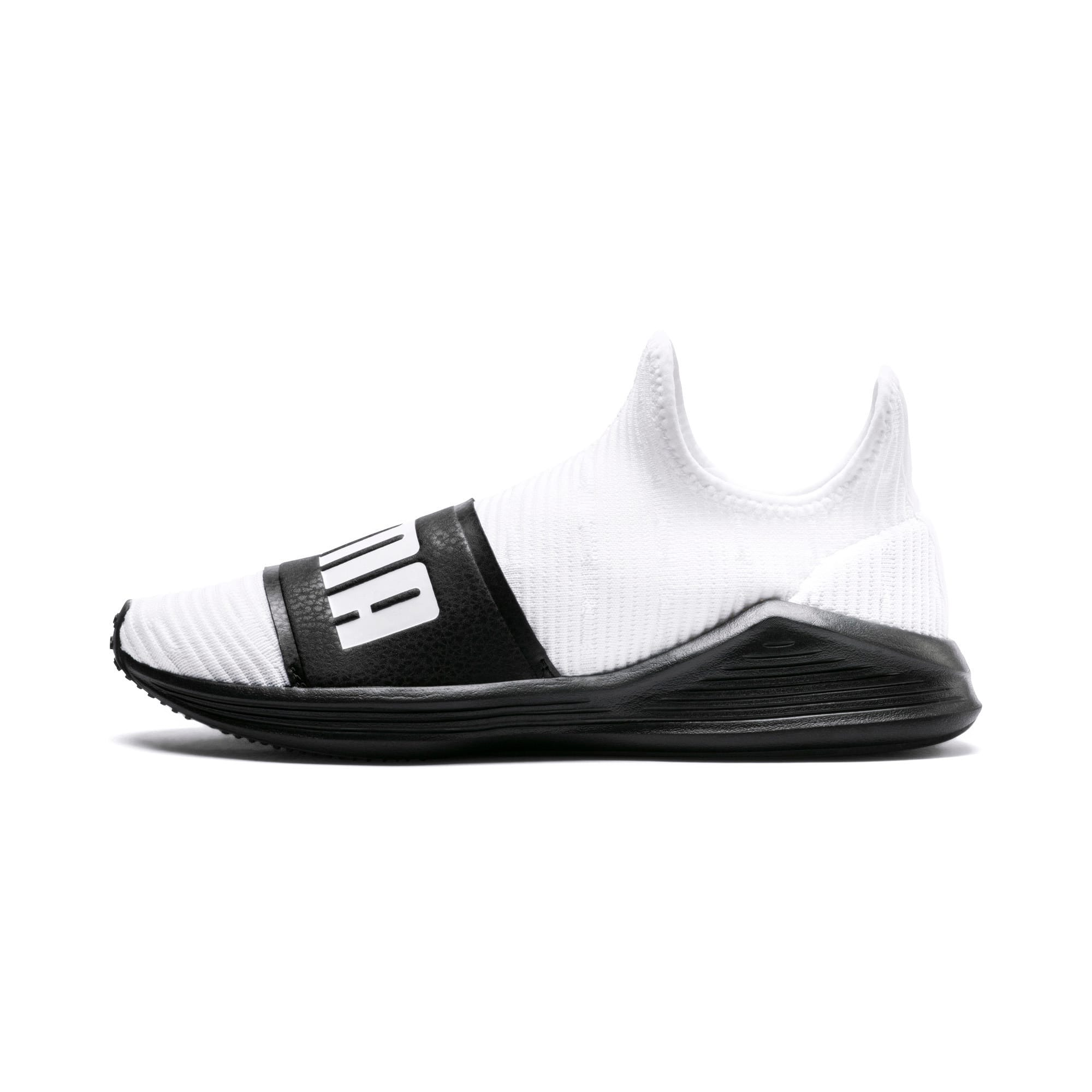 Thumbnail 1 of Fierce Slide Women's Trainers, Puma White-Puma Black, medium-IND