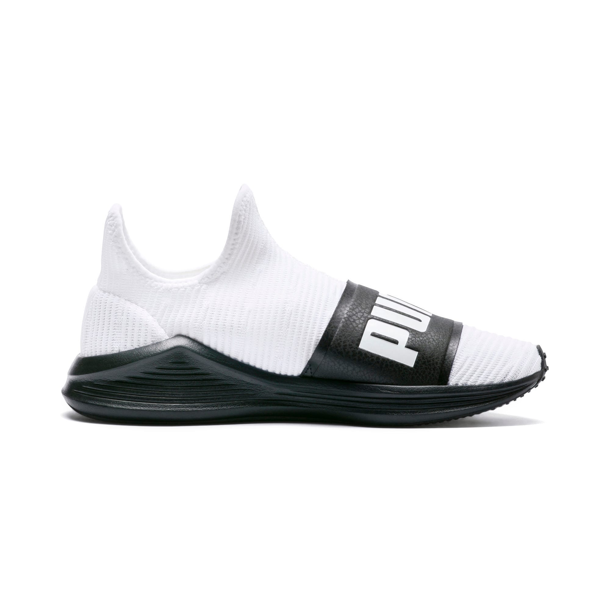 Thumbnail 5 of Fierce Slide Women's Trainers, Puma White-Puma Black, medium-IND