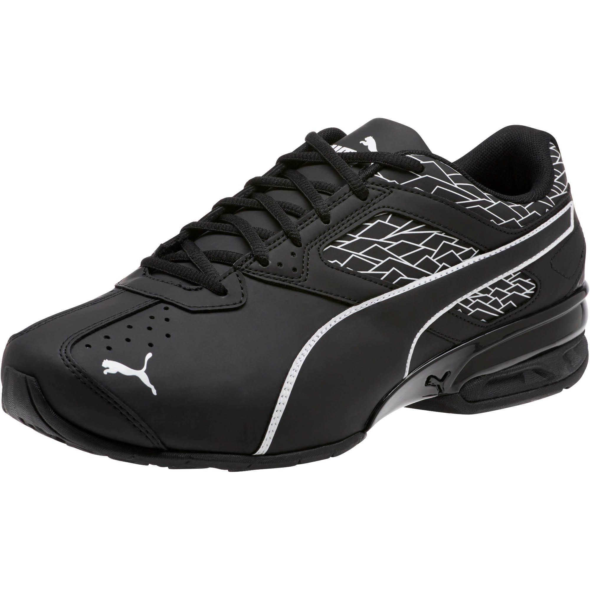 Thumbnail 1 of Tazon 6 Fracture FM Wide Men's Sneakers, Puma Black-Puma Black, medium