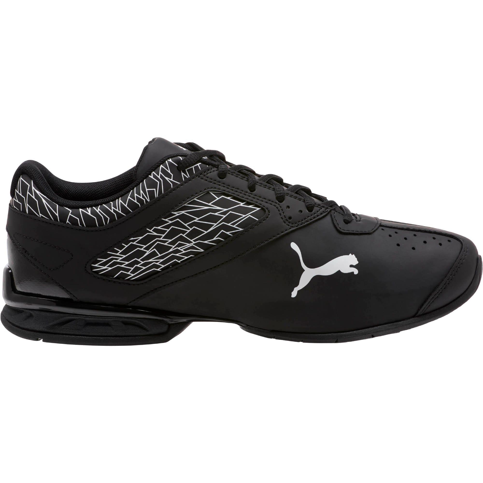 Thumbnail 3 of Tazon 6 Fracture FM Wide Men's Sneakers, Puma Black-Puma Black, medium