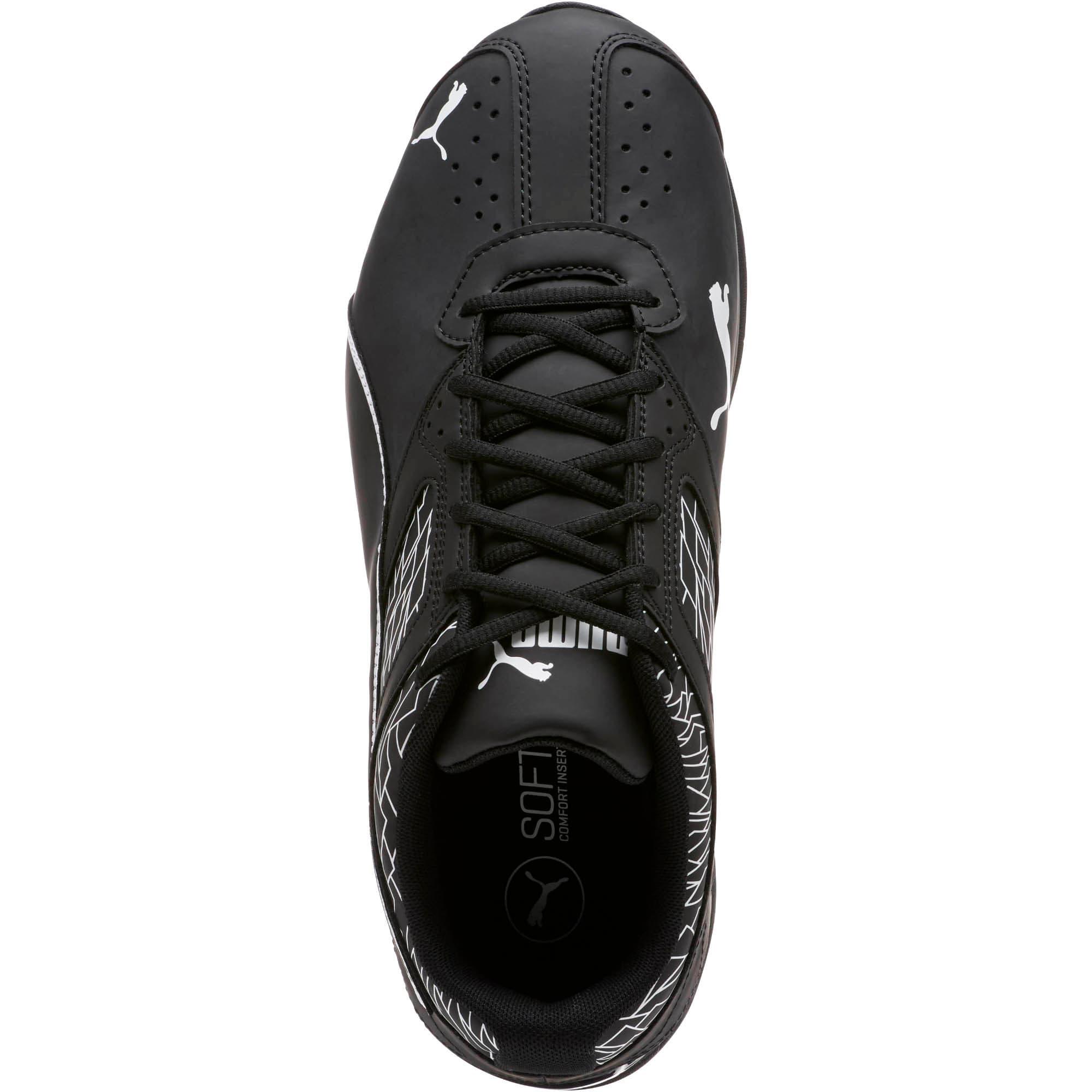 Thumbnail 5 of Tazon 6 Fracture FM Wide Men's Sneakers, Puma Black-Puma Black, medium