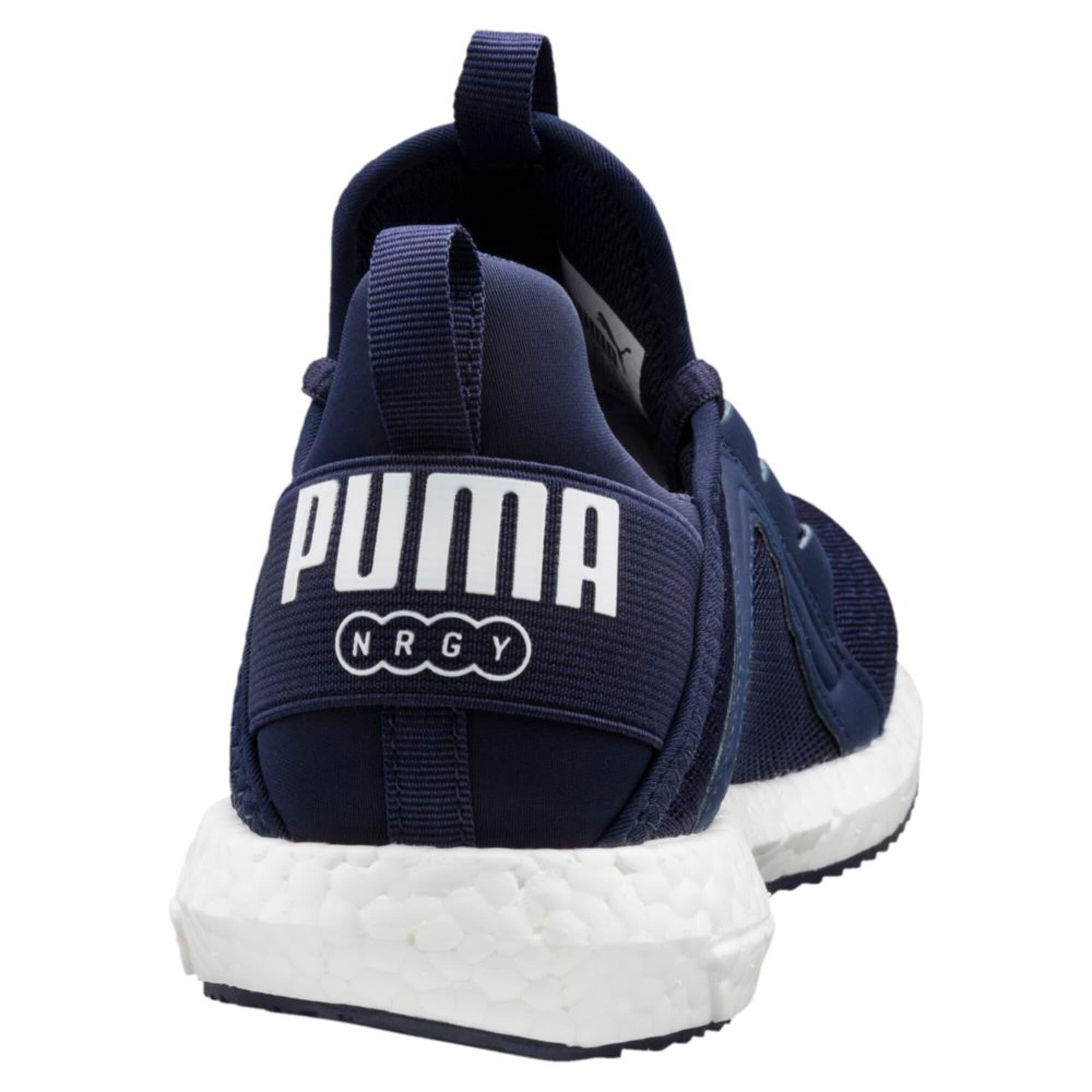 Thumbnail 2 of Mega NRGY Jr Trainers, Peacoat-Puma White, medium-IND
