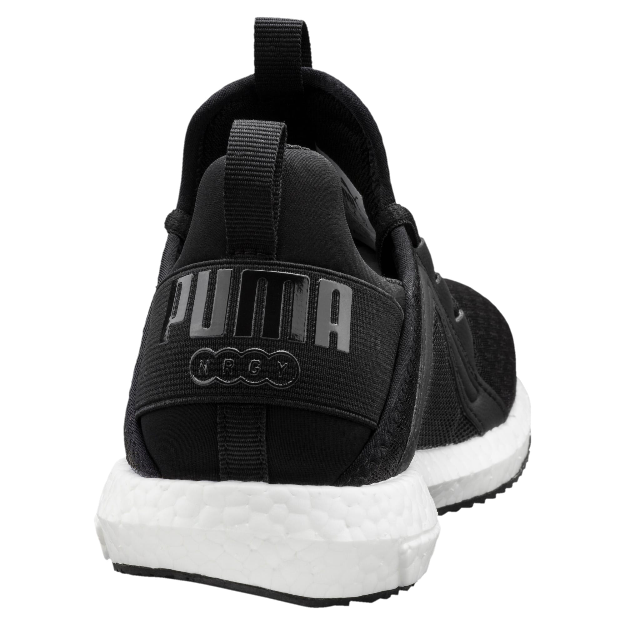 Thumbnail 4 of Mega NRGY AC Kids' Trainers, Puma Black-Puma Black, medium-IND
