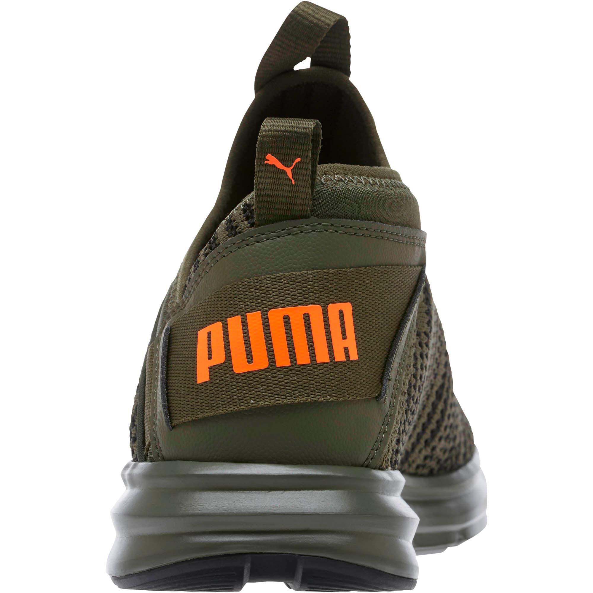 Thumbnail 4 of Enzo Peak Men's Sneakers, Forest Night-Black-Orange, medium