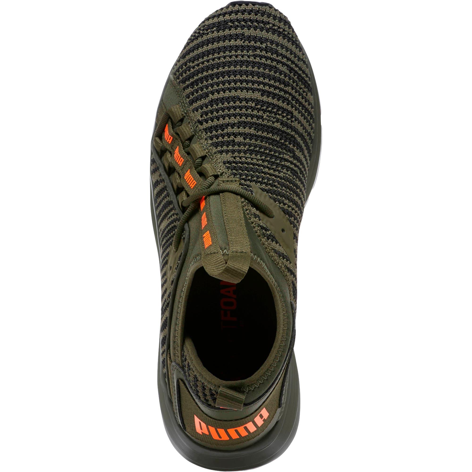 Thumbnail 5 of Enzo Peak Men's Sneakers, Forest Night-Black-Orange, medium