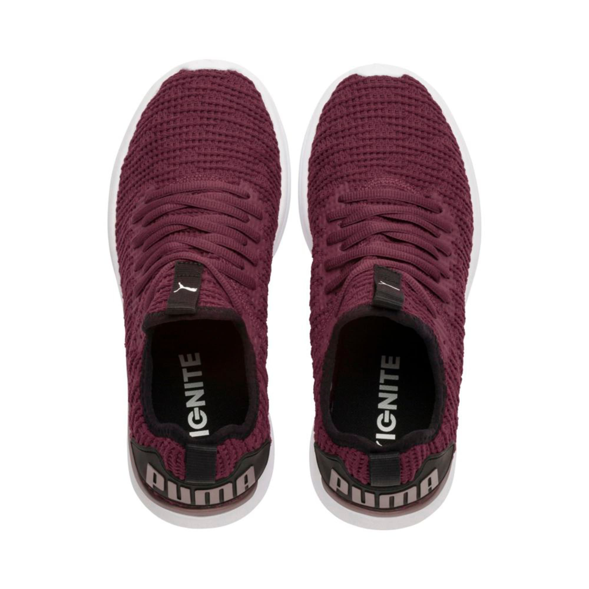 Thumbnail 3 of IGNITE Flash Luxe Women's Running Shoes, Fig-Black-Metallic Ash, medium-IND