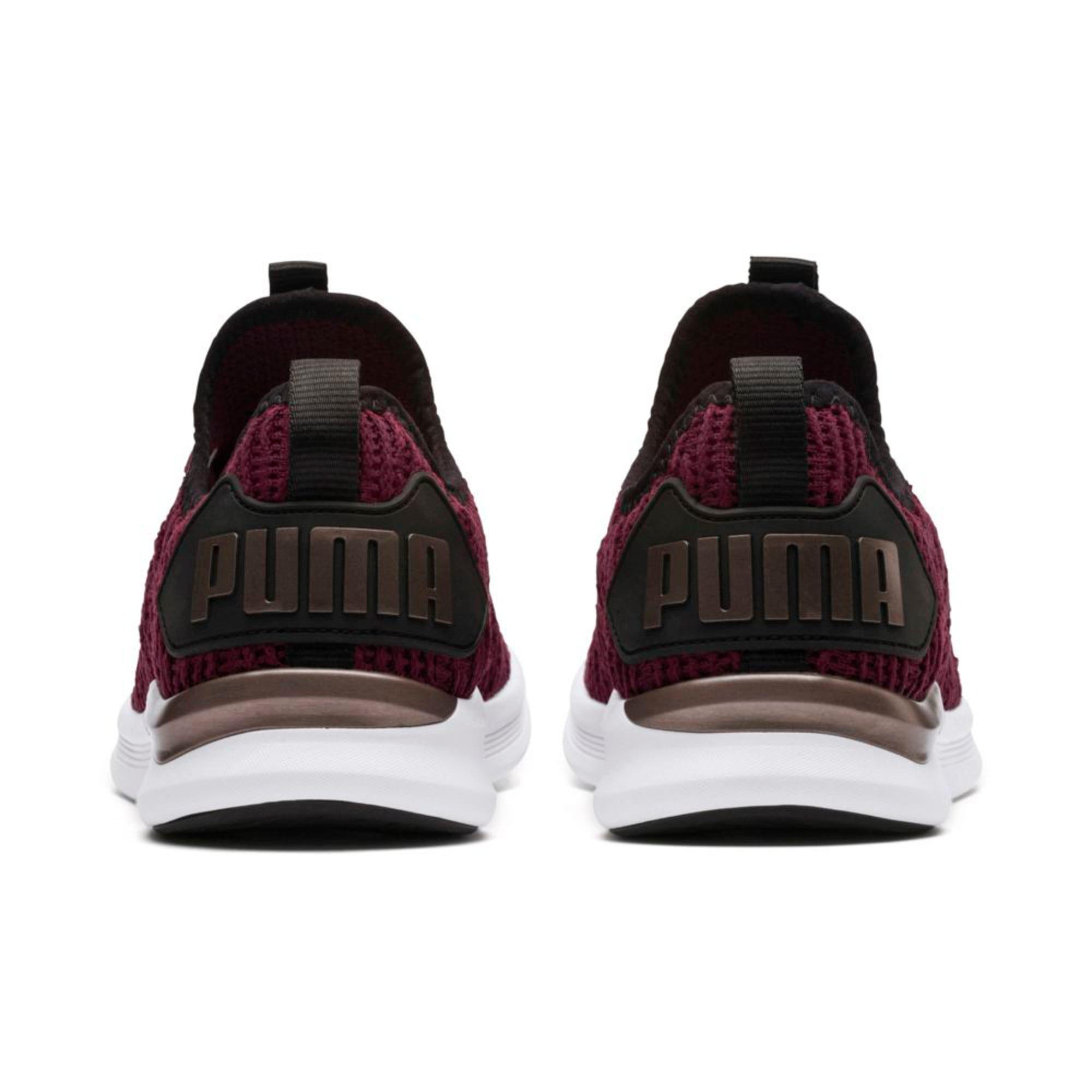 Thumbnail 4 of IGNITE Flash Luxe Women's Running Shoes, Fig-Black-Metallic Ash, medium-IND