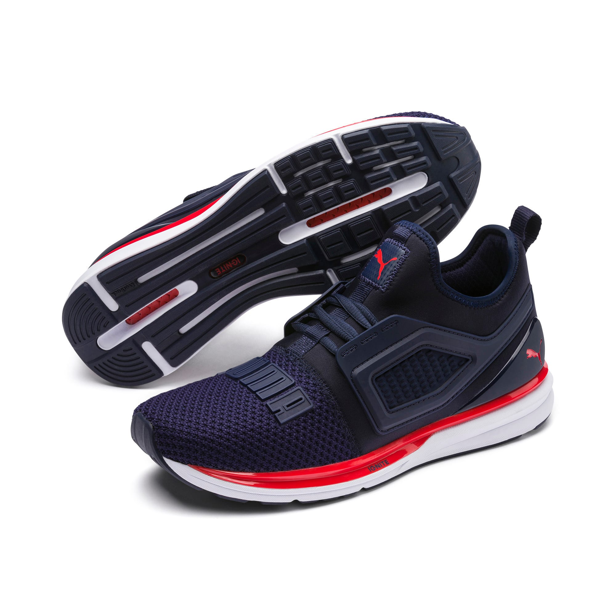 Thumbnail 2 of Chaussure de course IGNITE Limitless 2, Peacoat-High Risk Red, medium