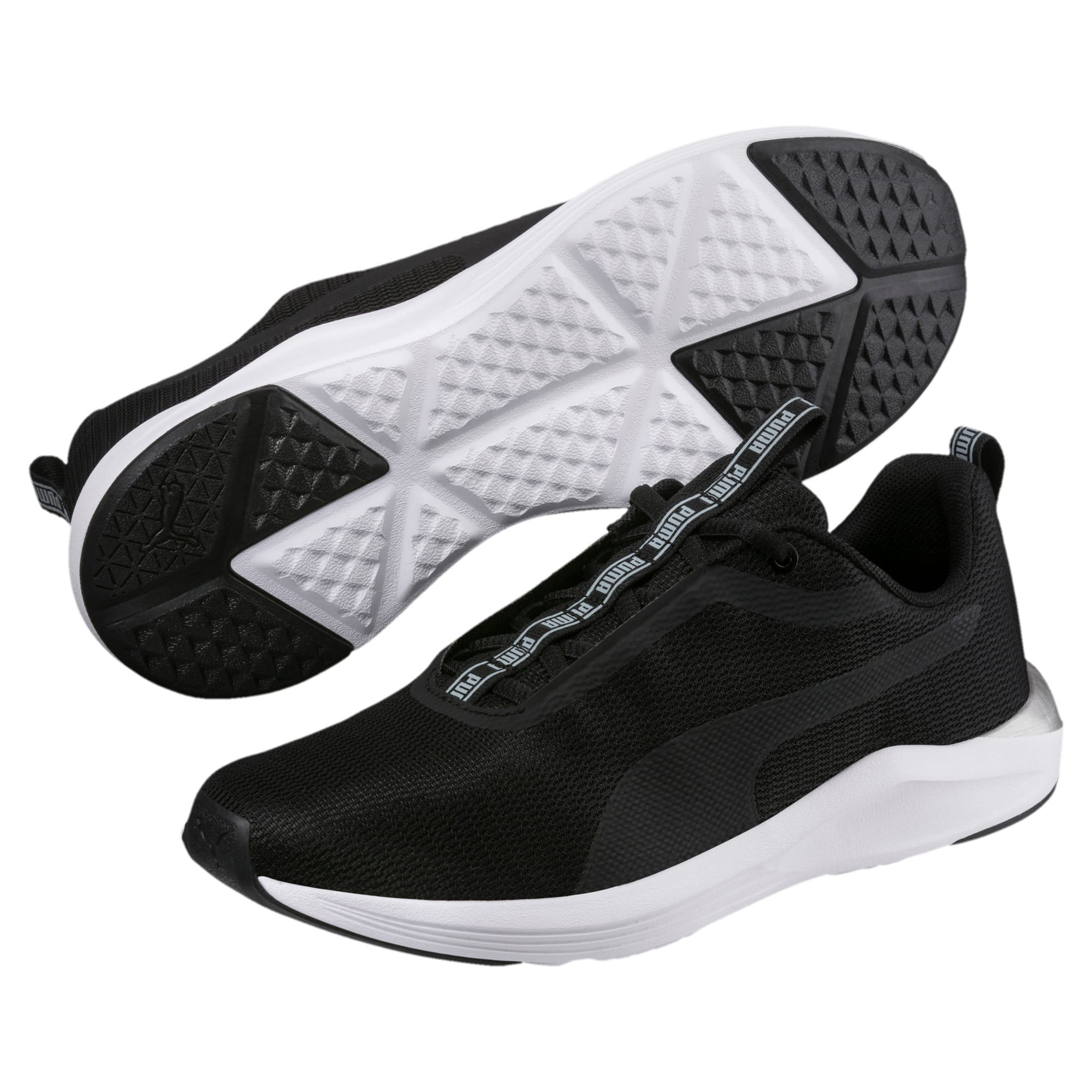 Thumbnail 2 of Prowl 2 Women's Training Shoes, Puma Black-Puma White, medium