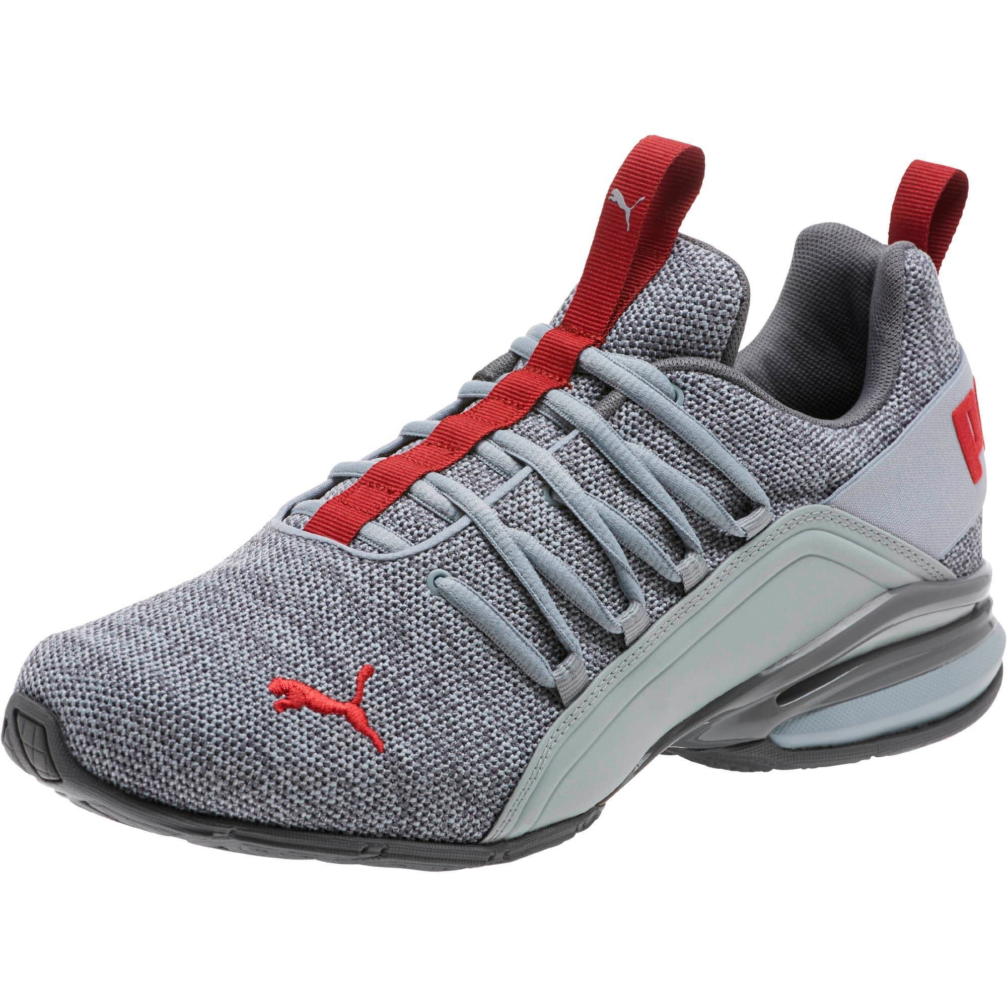 Thumbnail 1 of Axelion Men's Training Shoes, Quarry-QUIET SHADE-Red, medium