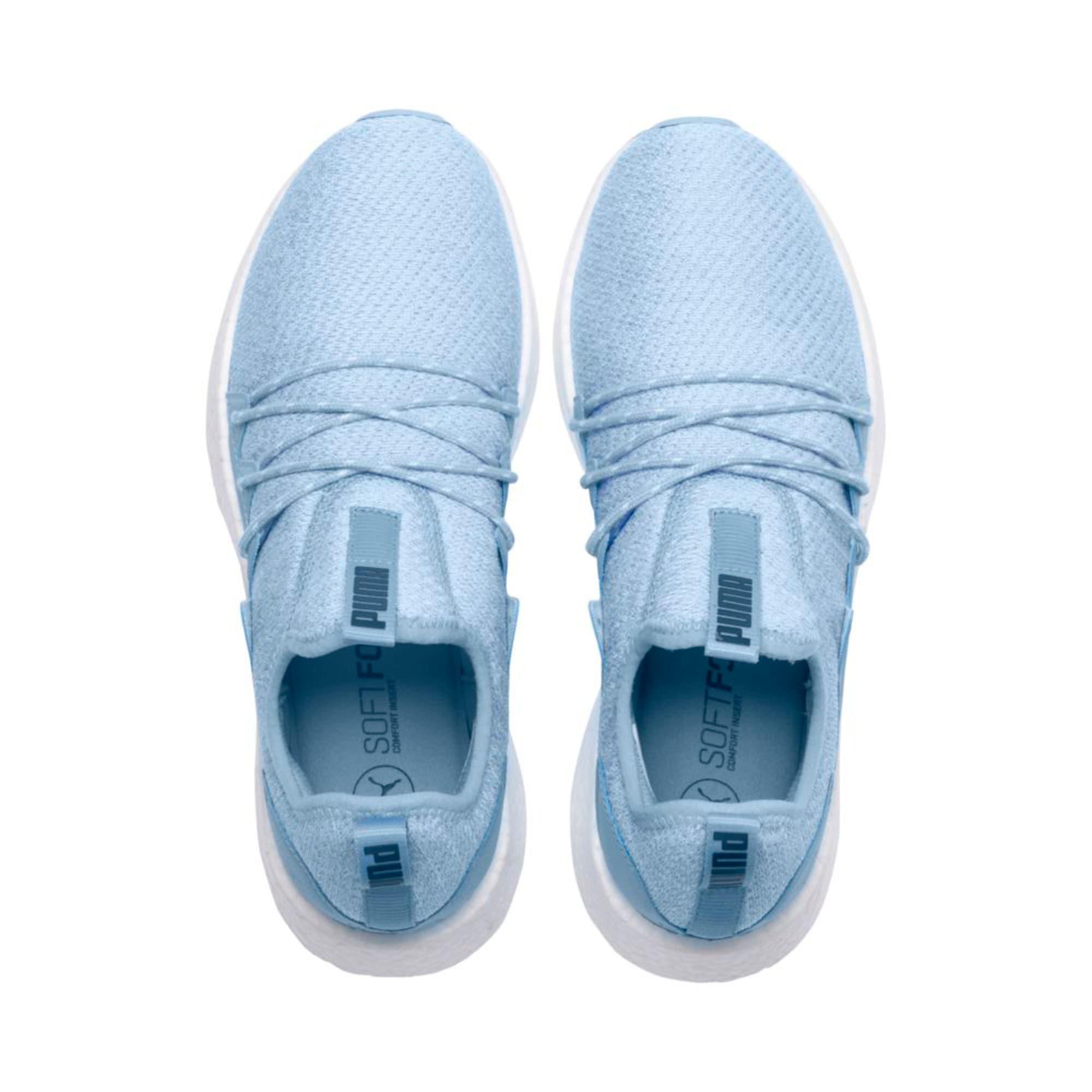 Thumbnail 3 of NRGY Neko Knit Women's Running Shoes, CERULEAN-Peacoat, medium-IND