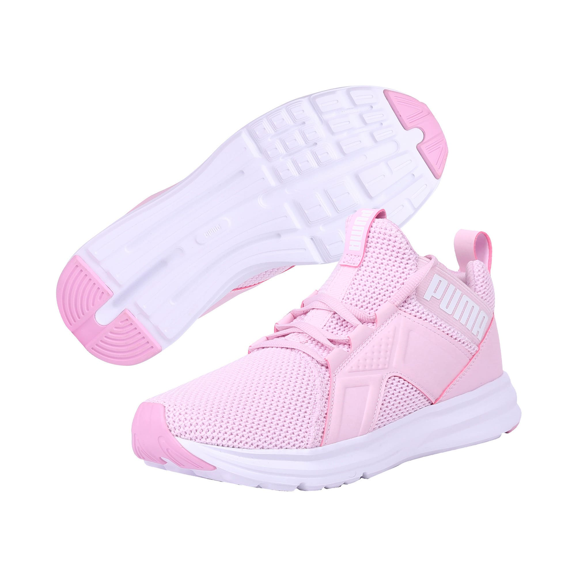 Thumbnail 2 of Enzo Weave Women's Trainers, Winsome Orchid-Puma White, medium-IND