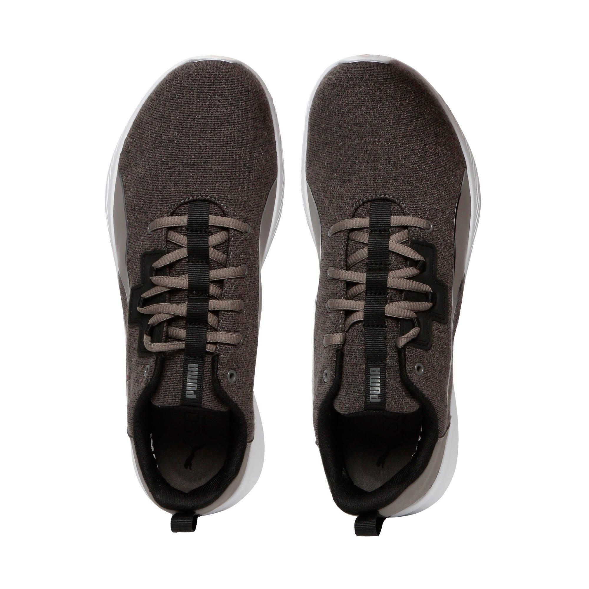Thumbnail 6 of Tishatsu Runner Knit, Charcoal Gray-Puma Black, medium-IND