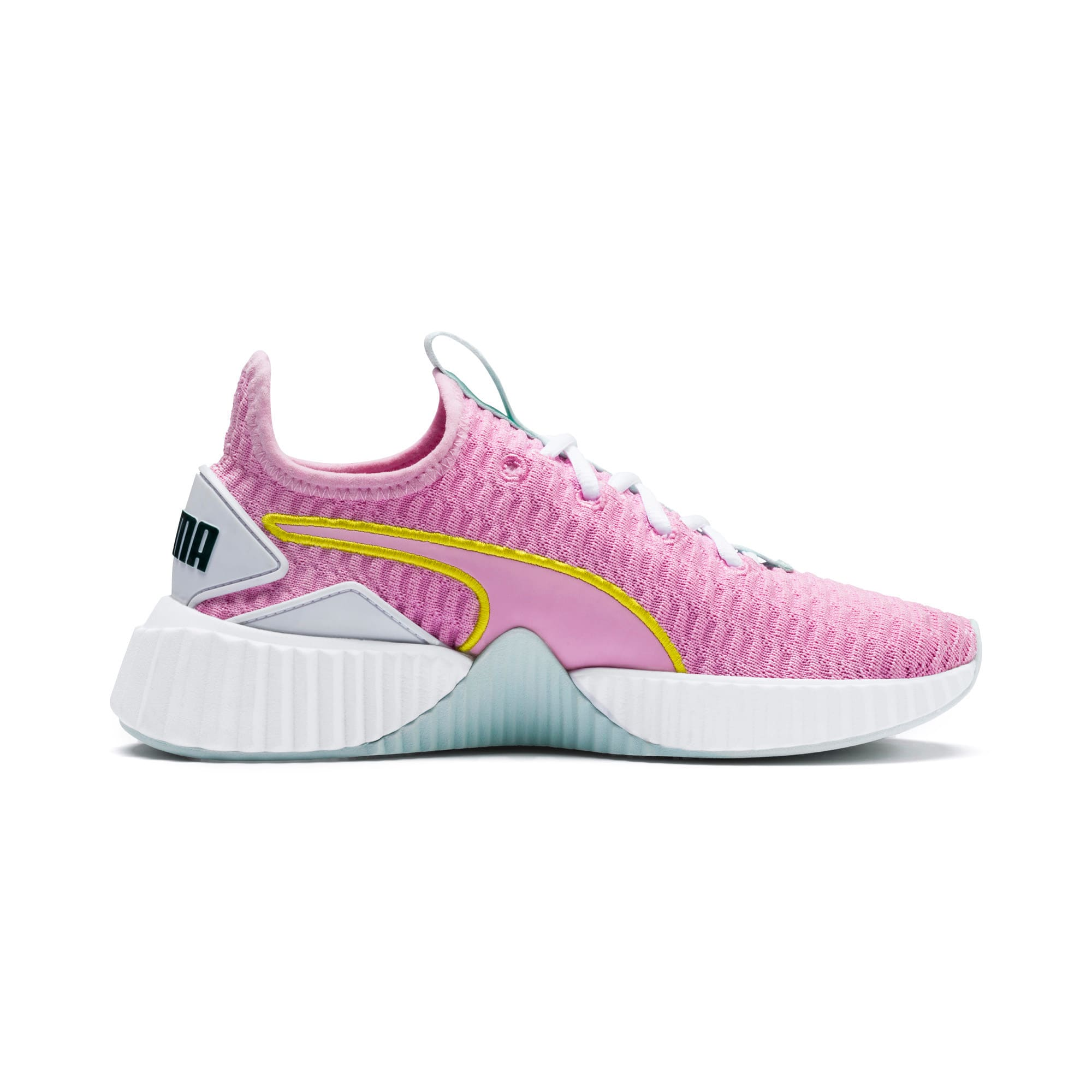Thumbnail 5 of Defy sneakers voor meisjes, Pale Pink-White-Fair Aqua, medium