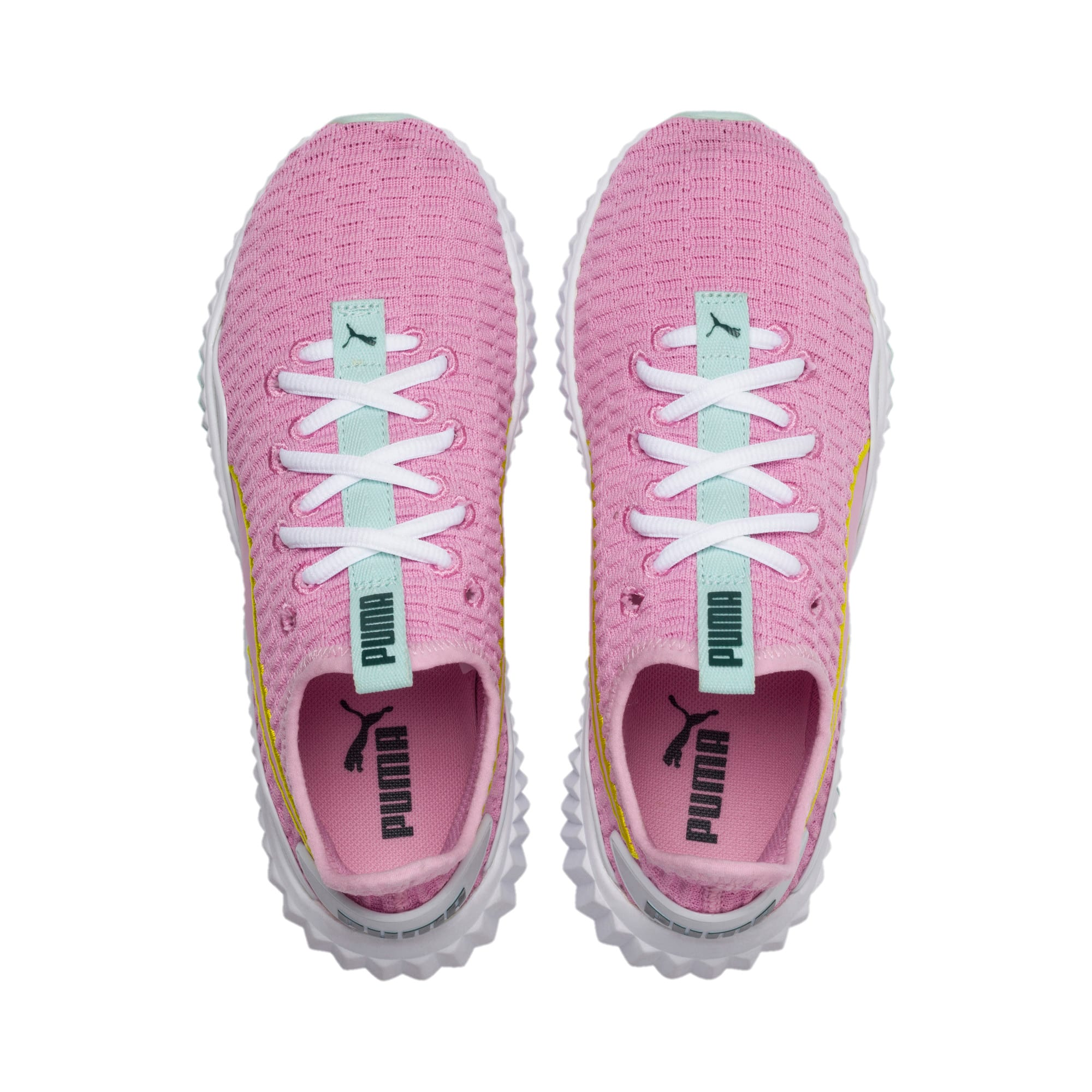 Thumbnail 6 of Defy sneakers voor meisjes, Pale Pink-White-Fair Aqua, medium