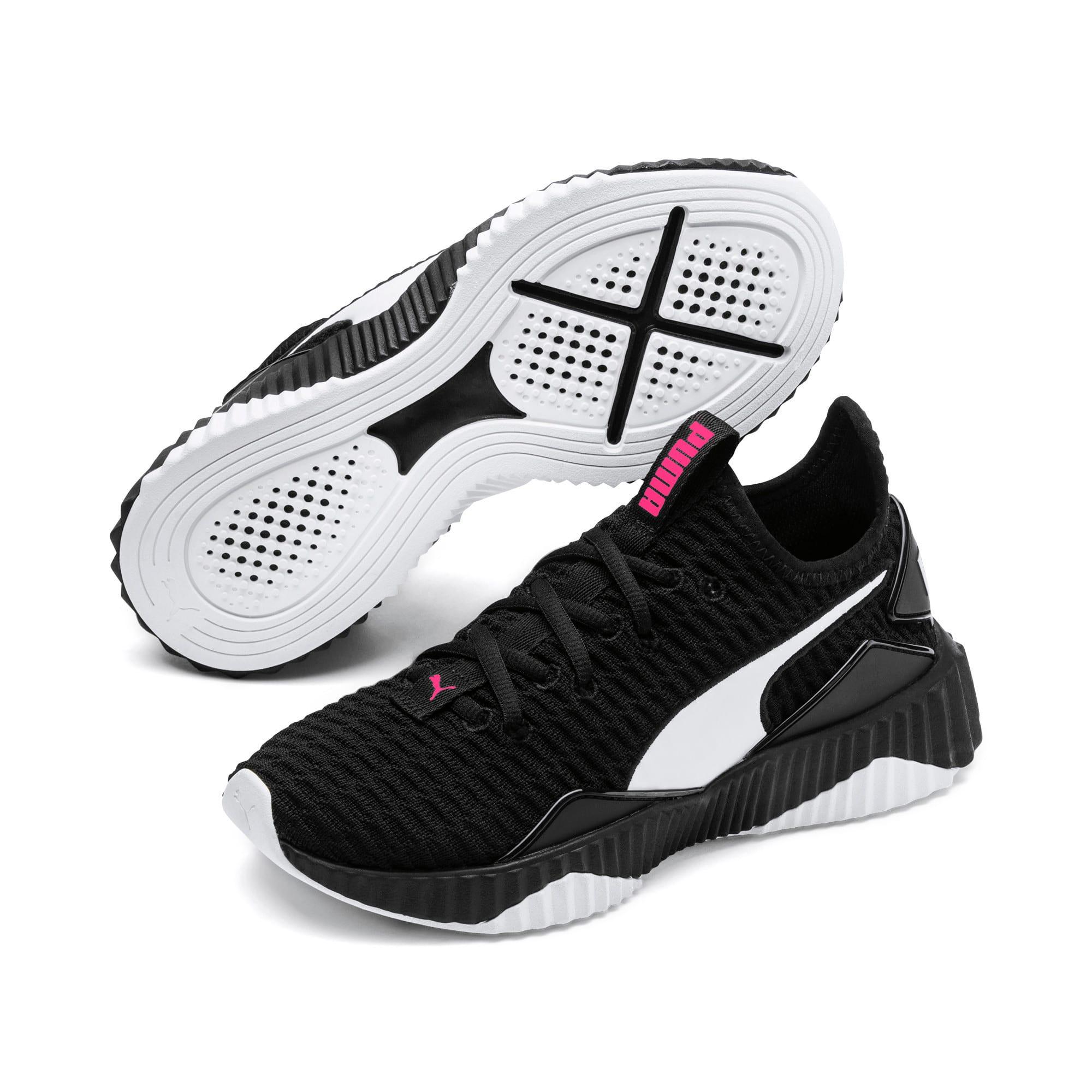 Thumbnail 2 van Defy sneakers voor meisjes, Puma Black-Puma White, medium
