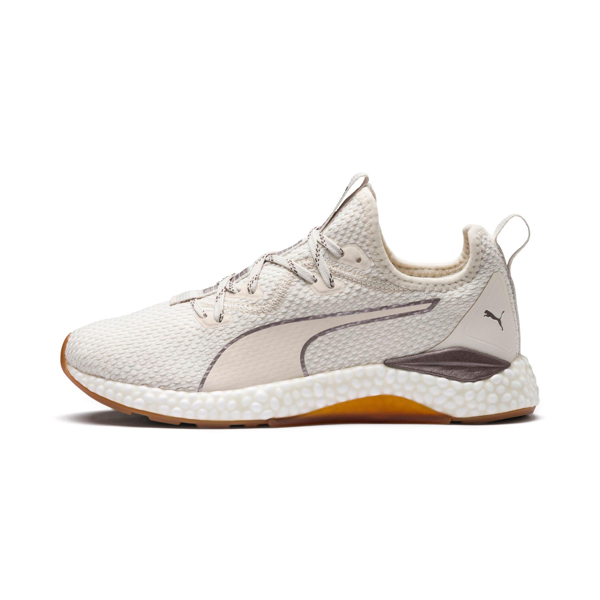 Thumbnail 1 of HYBRID Runner Luxe Women's Running Shoes, Whisper White-Puma White, medium