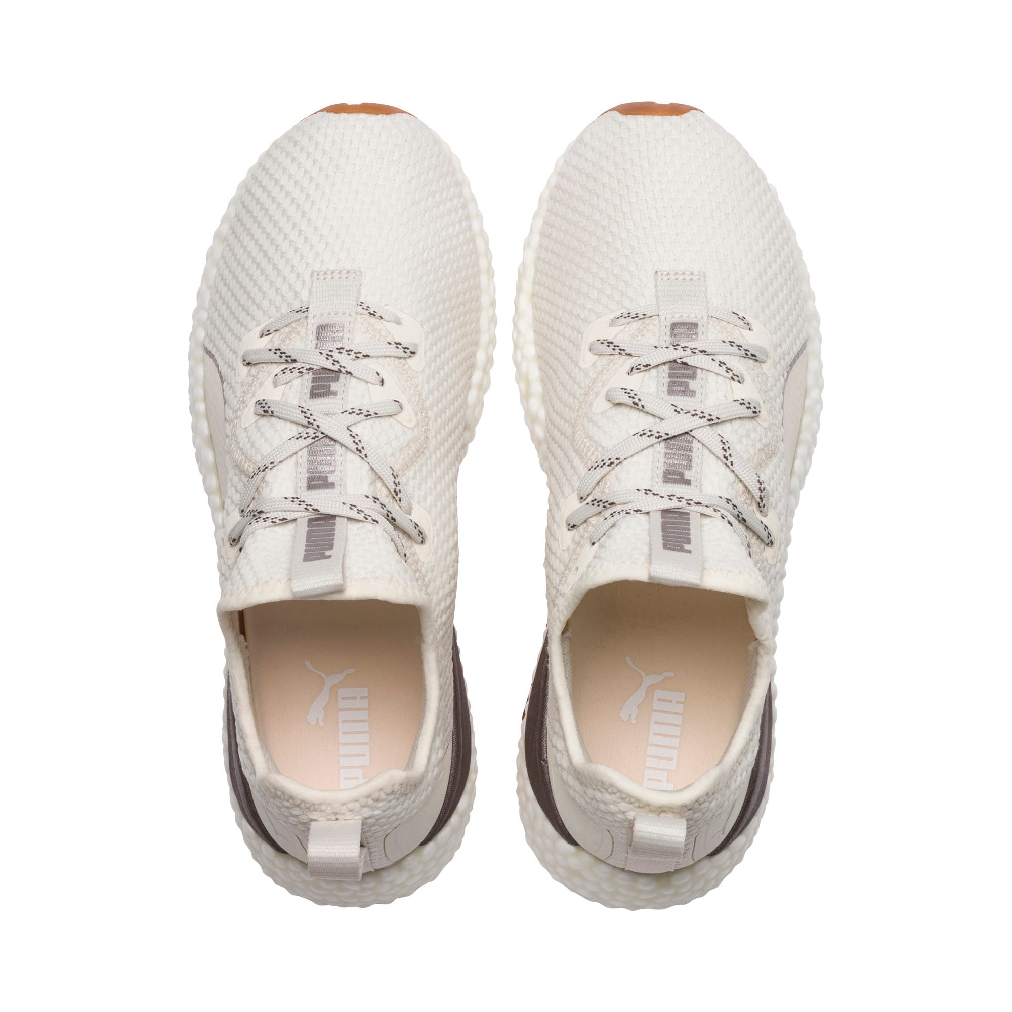 Thumbnail 6 of HYBRID Runner Luxe Women's Running Shoes, Whisper White-Puma White, medium