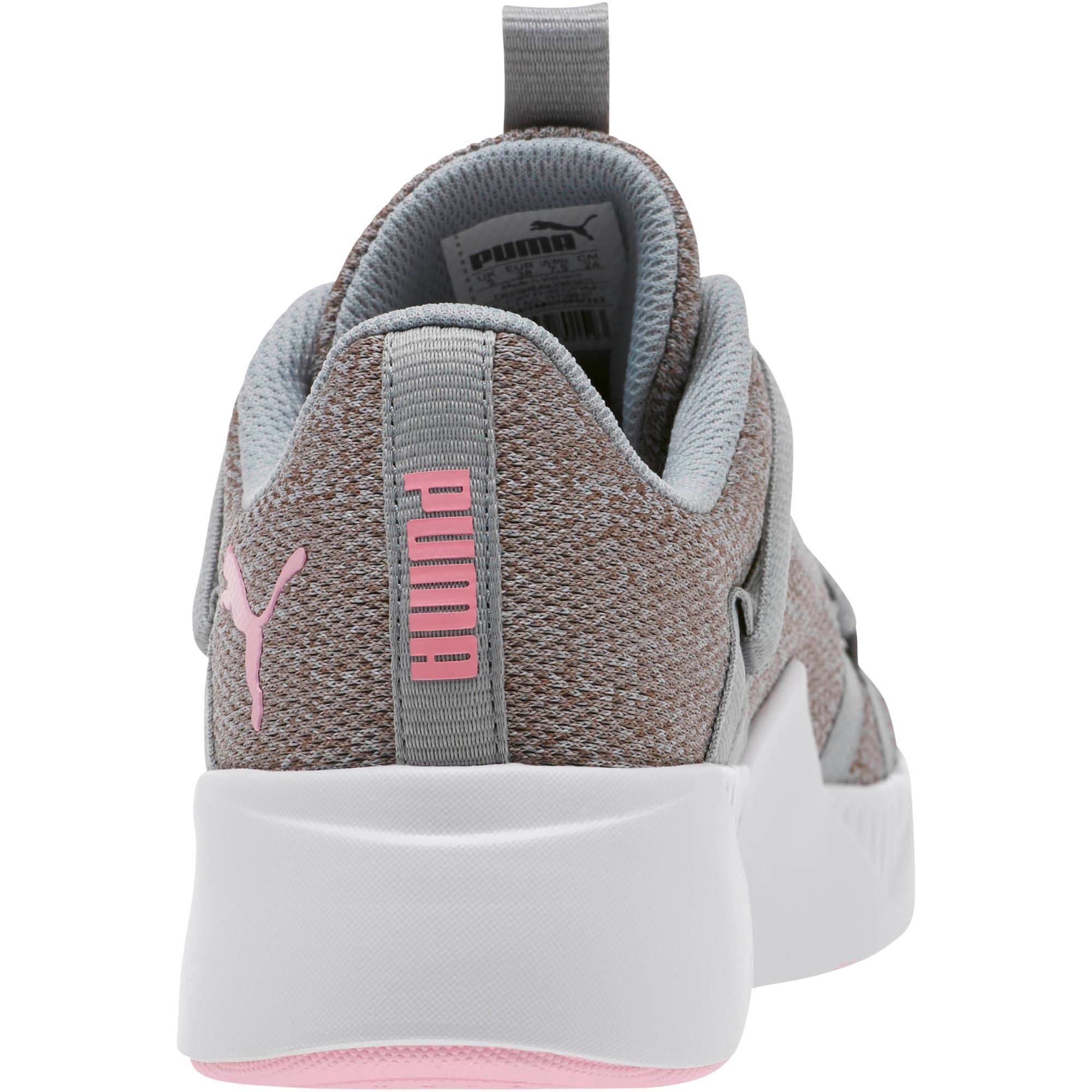 Thumbnail 4 of Incite Knit Women's Training Shoes, Quarry-Pale Pink, medium